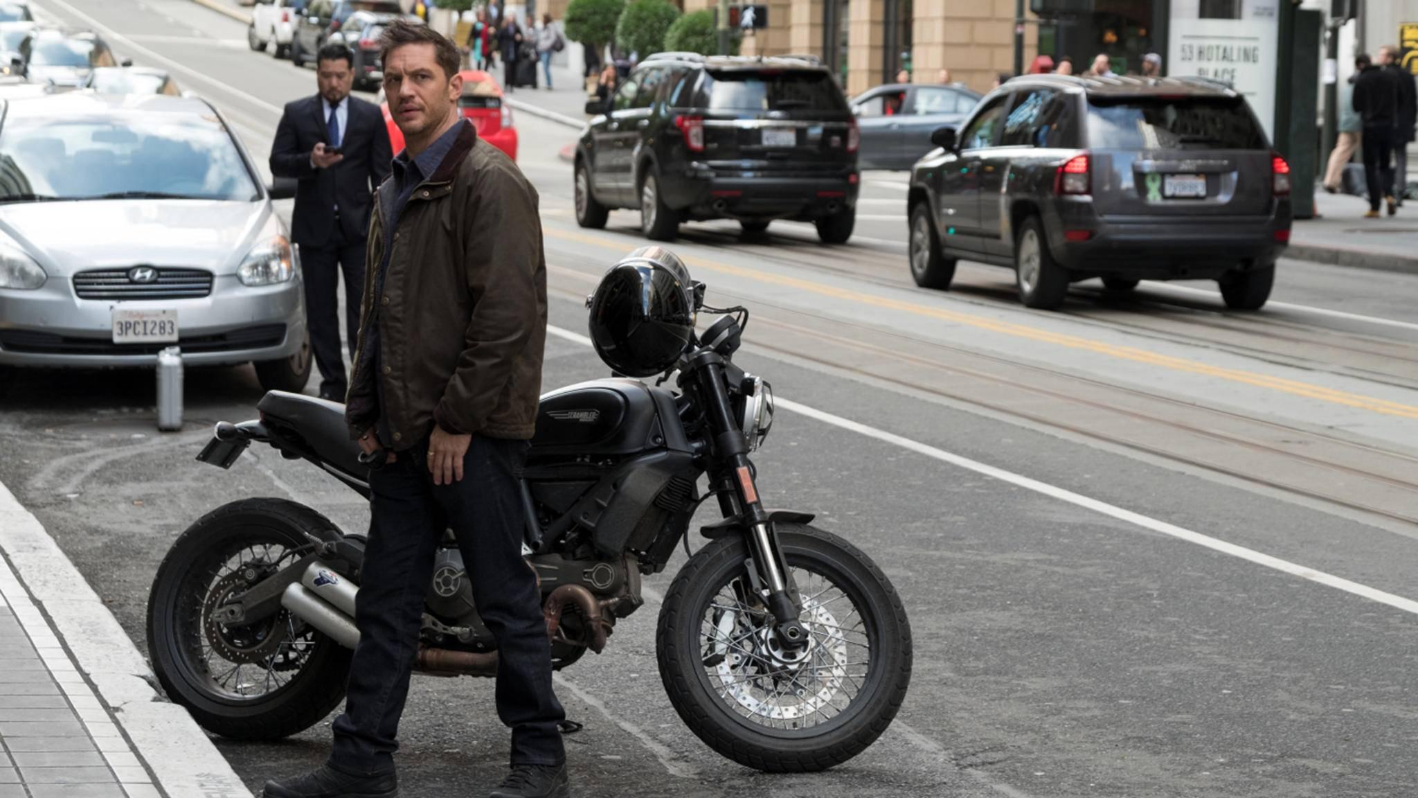 """Schwing dich wieder in den Sattel, Tom Hardy! Die """"Venom""""-Reihe kommt jetzt erst richtig in Fahrt!"""