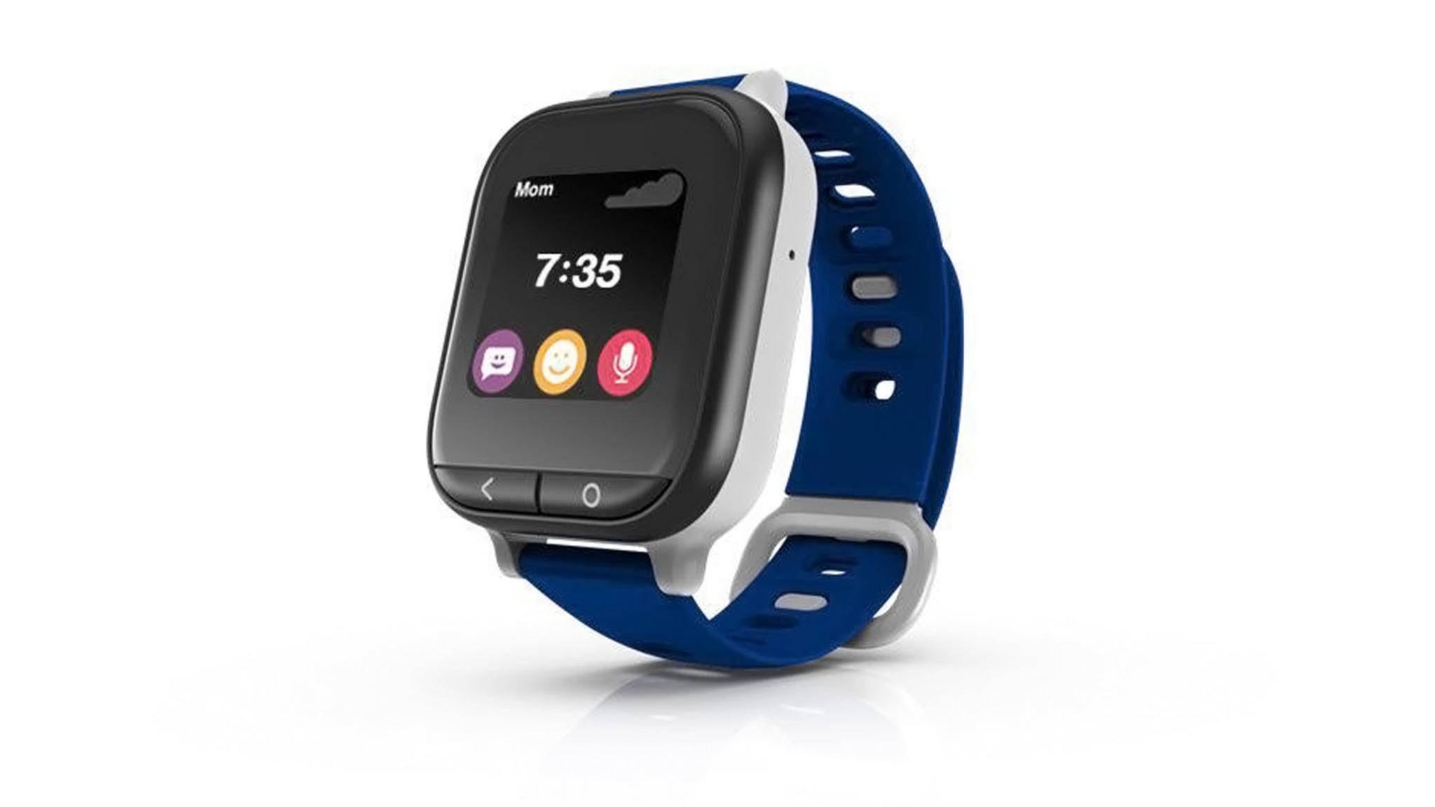 Optisch erinnert die Verizon Gizmowatch ein wenig an die Apple Watch.