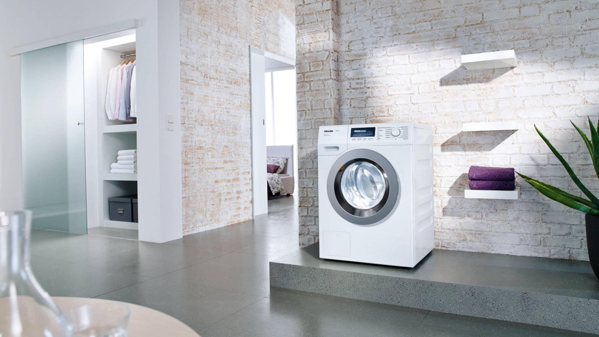 Die WKF 311 WPS SpeedCare von Miele ist einer der großen Sieger im aktuellen Waschmaschinen-Test der Stiftung Warentest.