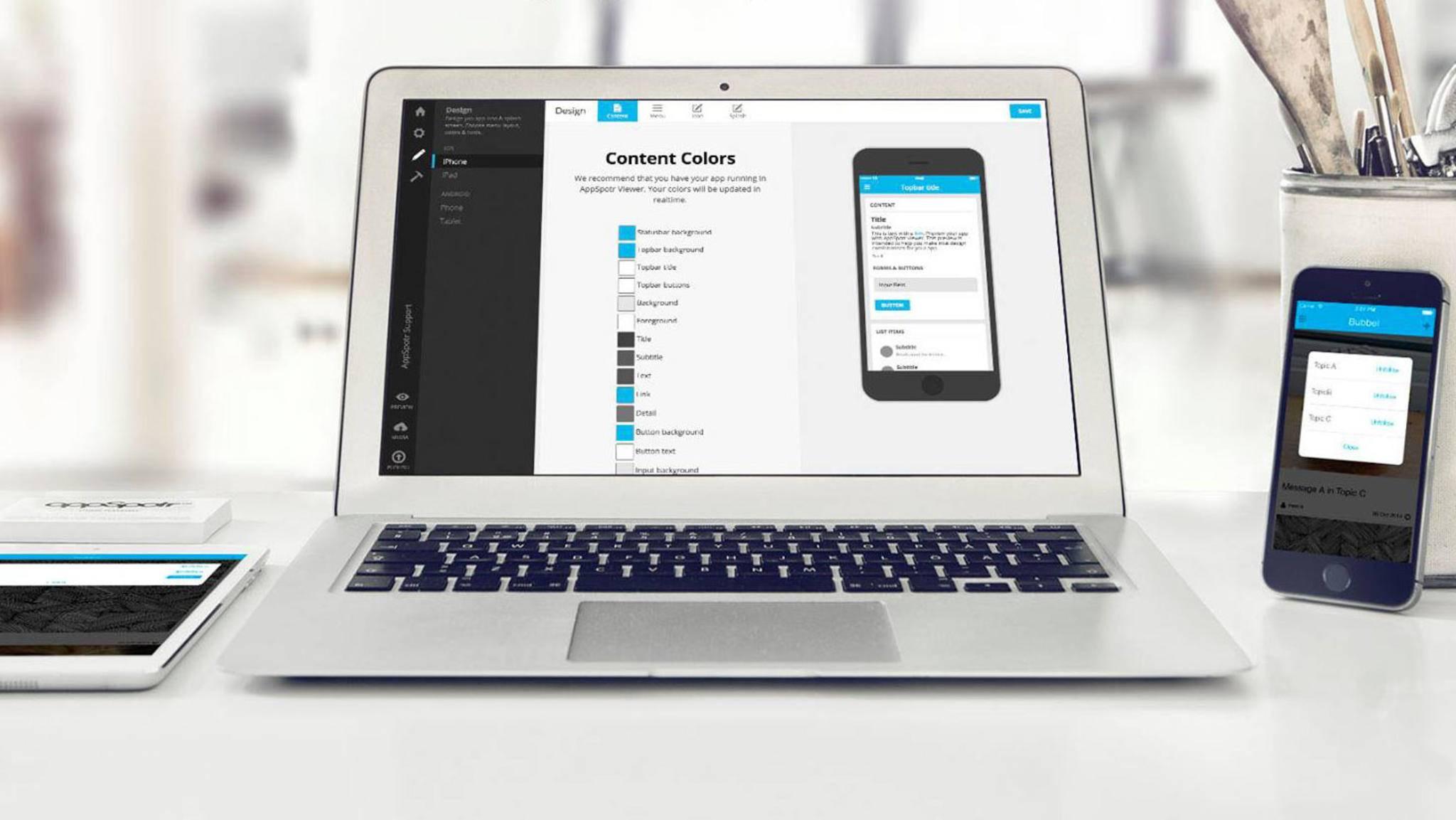 Mit Online-Baukästen kannst Du Deine eigene App ohne Programmierkenntnisse erstellen.