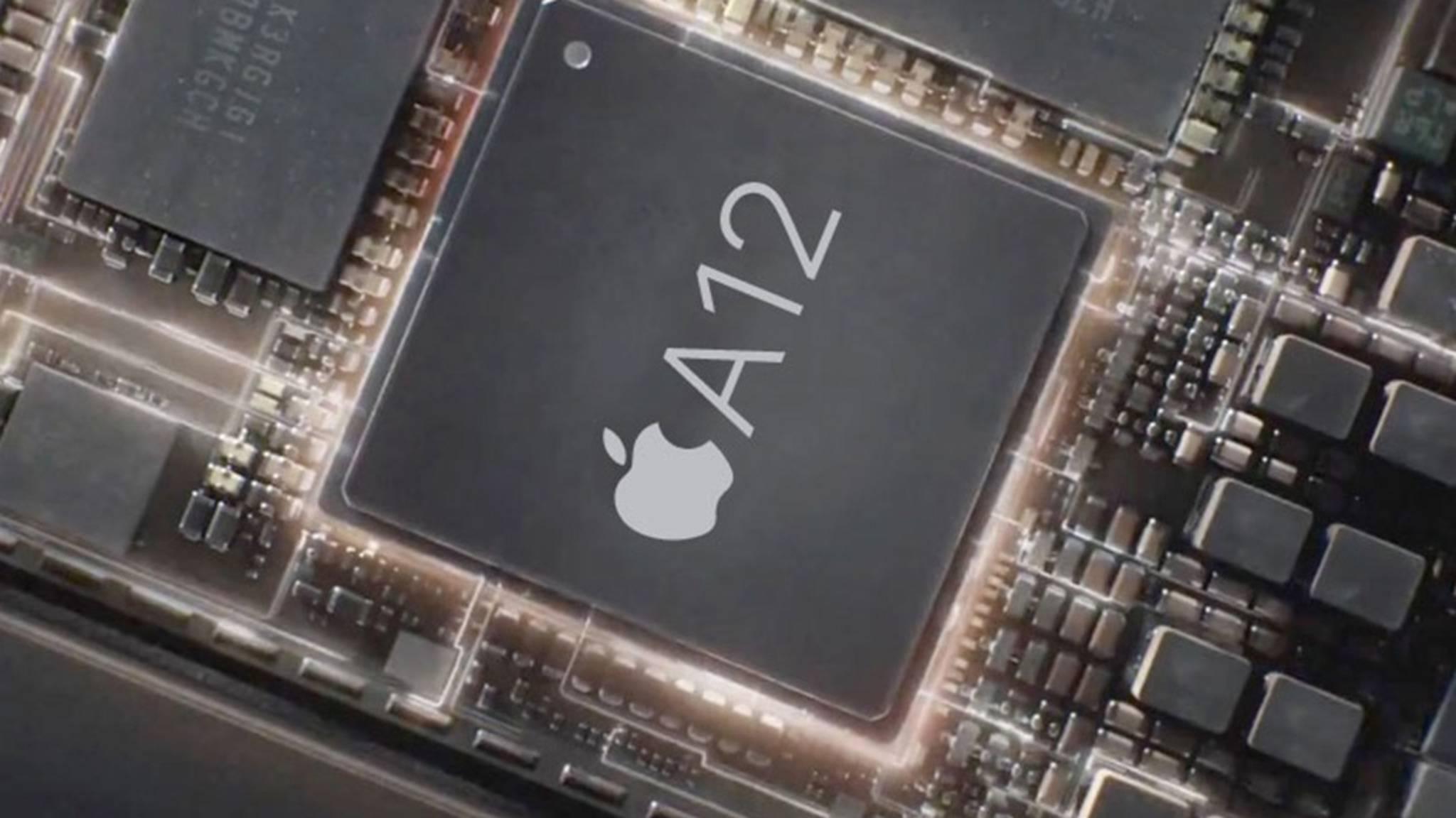 Auch der A12 wurde von Apple vor dem Release sicher auf Herz und Nieren geprüft.