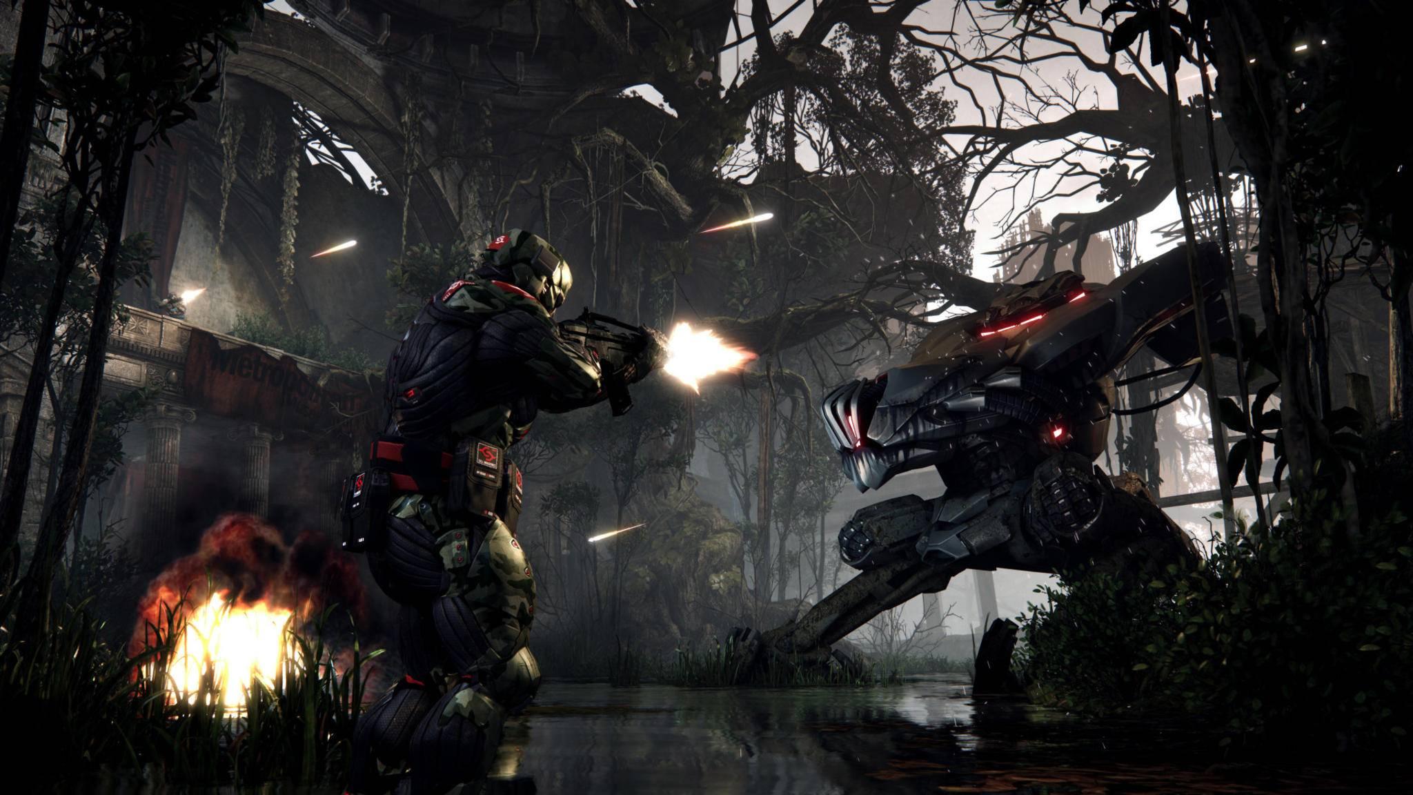 """Switch-Besitzer dürfen """"Crysis Remastered"""" zuerst zocken. (Bild: """"Crysis 3"""")"""
