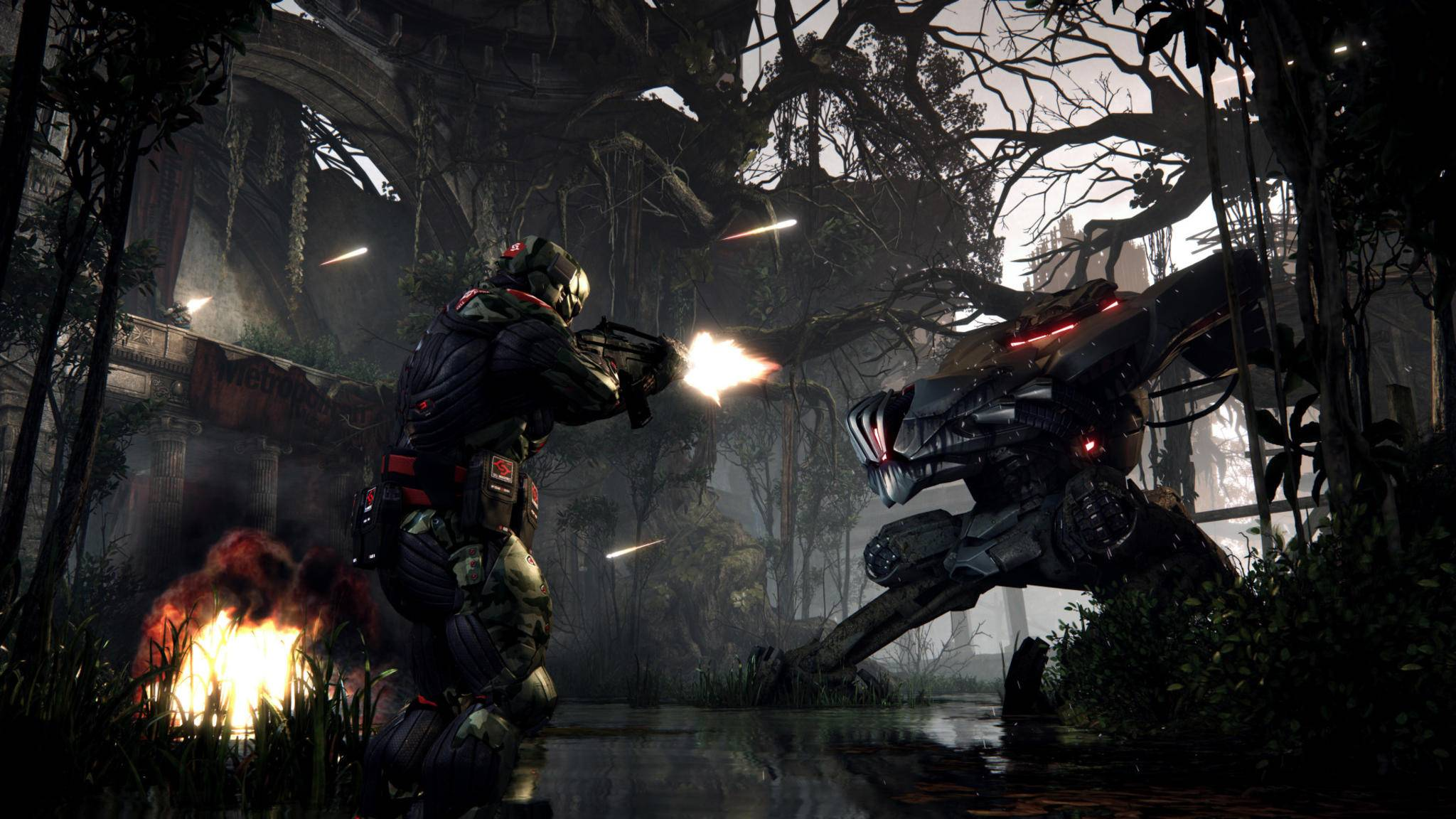 "So sah ""Crysis 3"" aus – auch heute noch schick."
