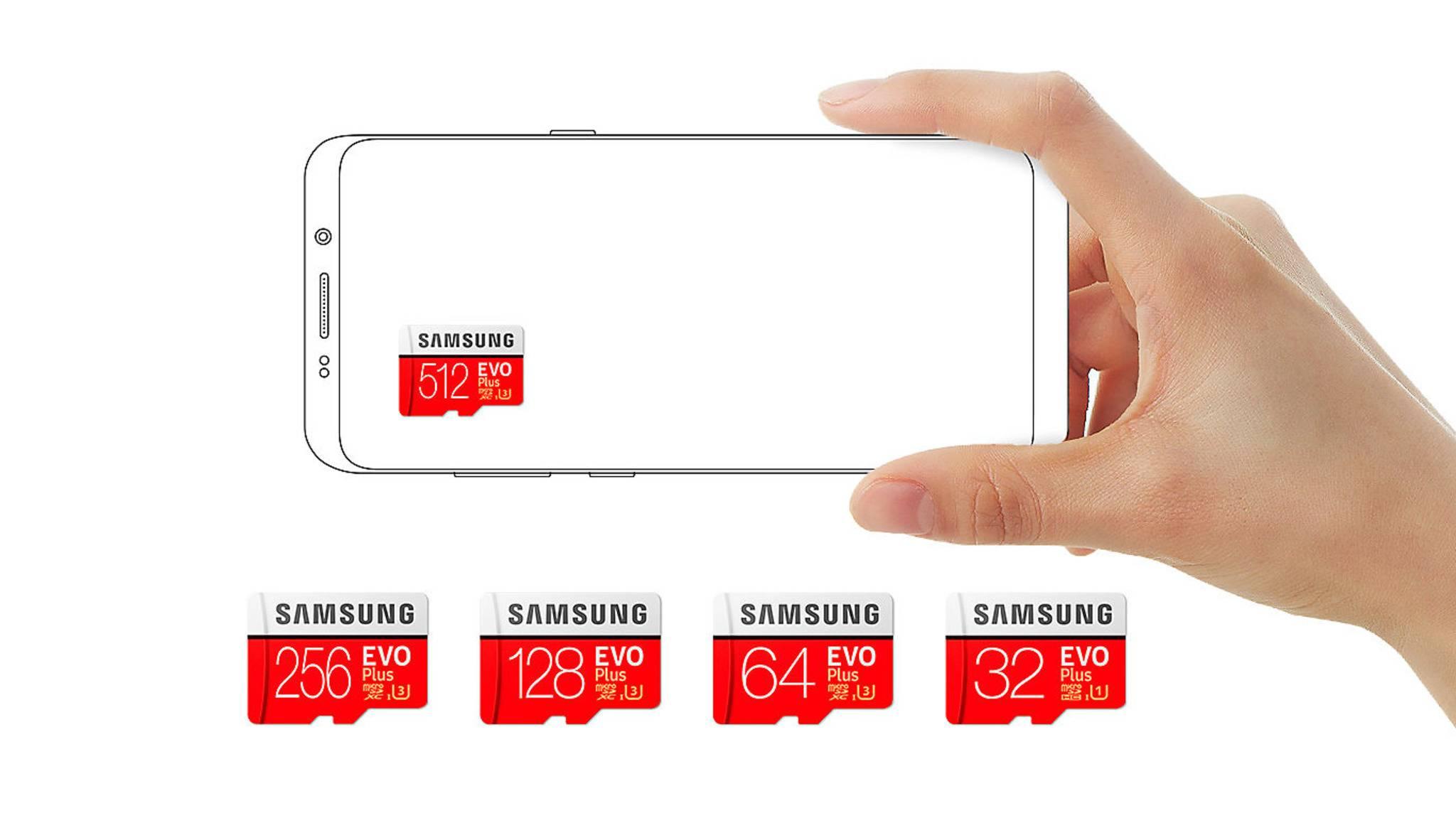 """Die neue """"Evo Plus""""-microSD-Karte von Samsung ist praktisch konkurrenzlos."""