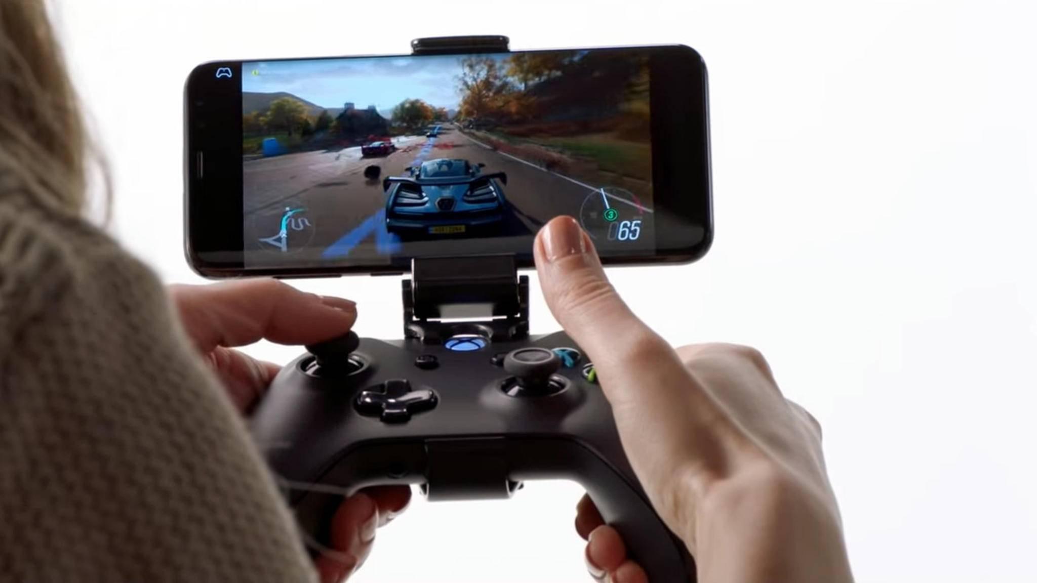 xCloud soll die gesamte Xbox-Spielebibliothek mobil verfügbar machen.