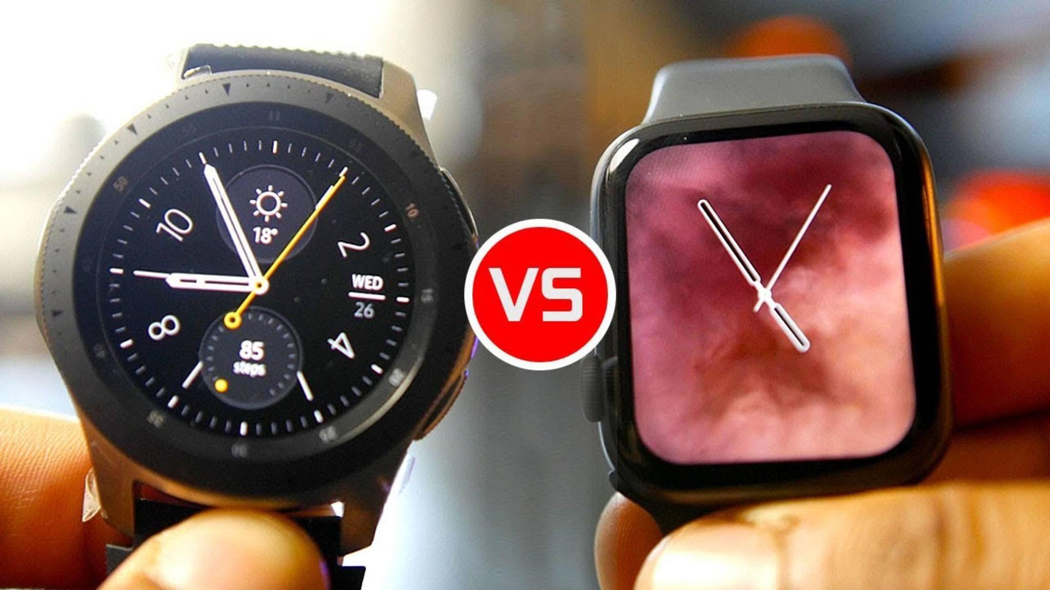 Galaxy Watch oder Apple Watch 4: Welche ist besser?