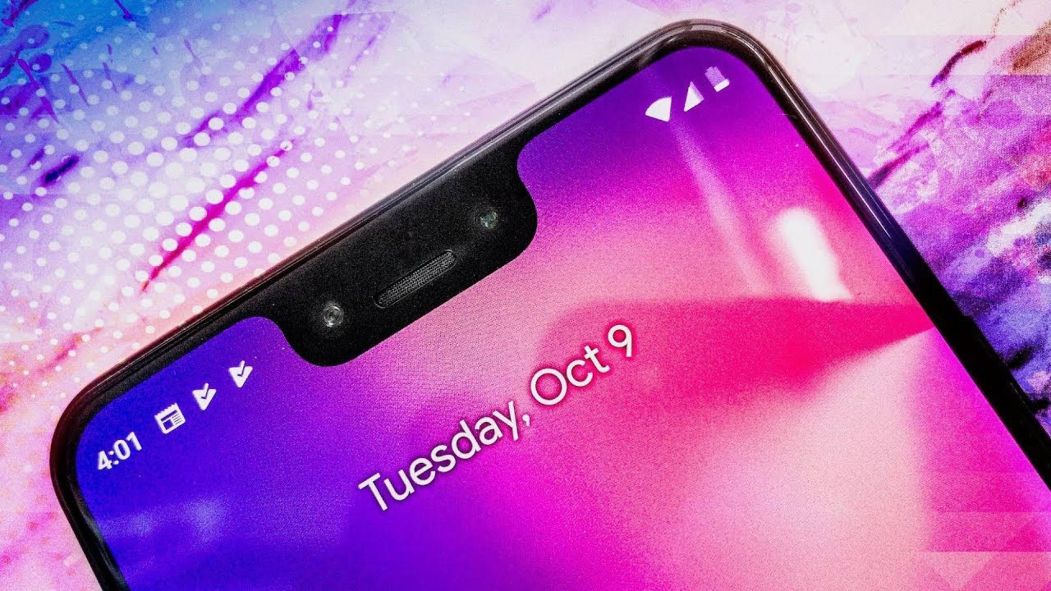 Der brillante OLED-Screen im Google Pixel 3 XL stammt von Samsung.