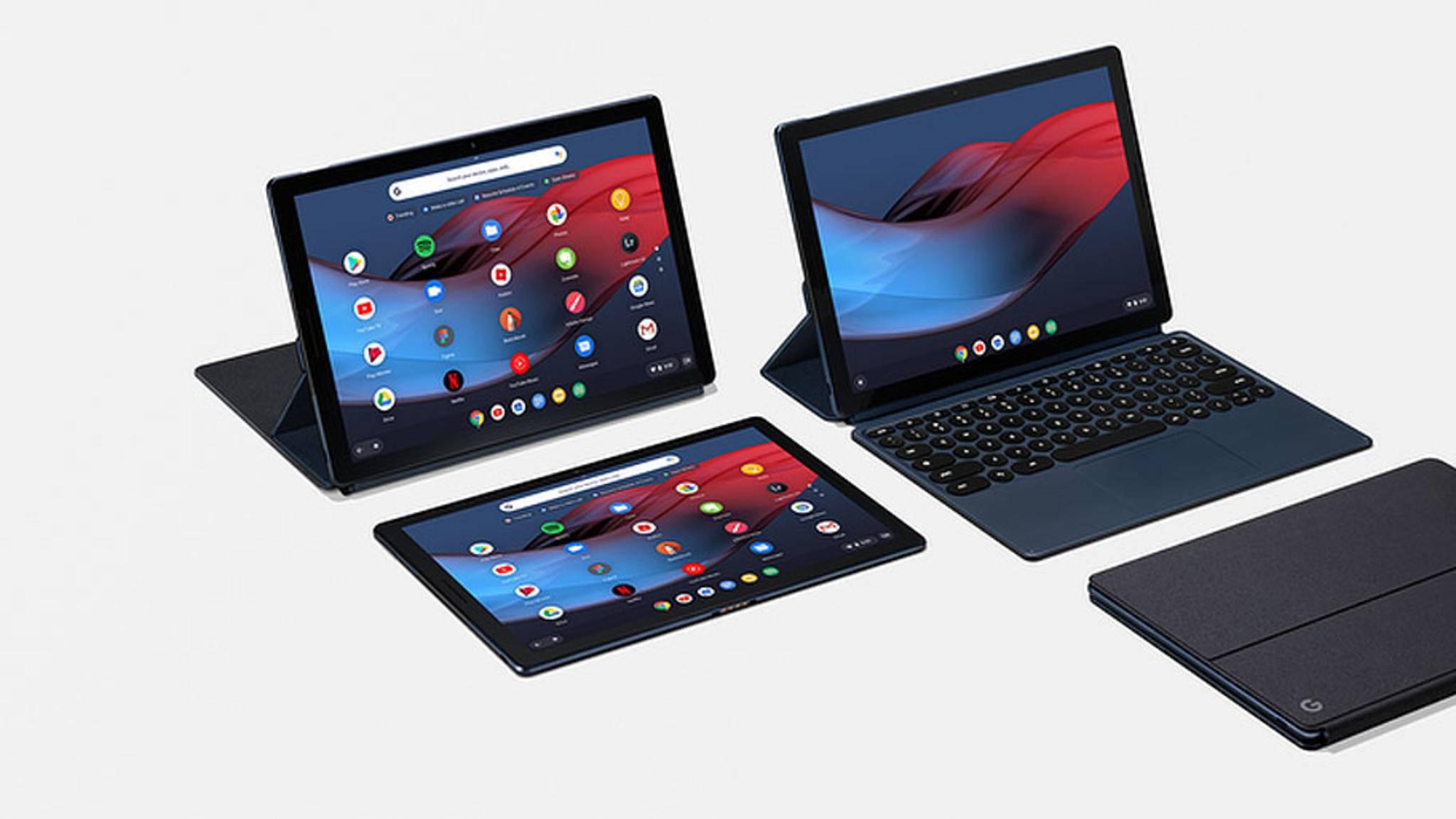 Das Pixel Slate ist Googles neues Tablet mit Chrome OS.