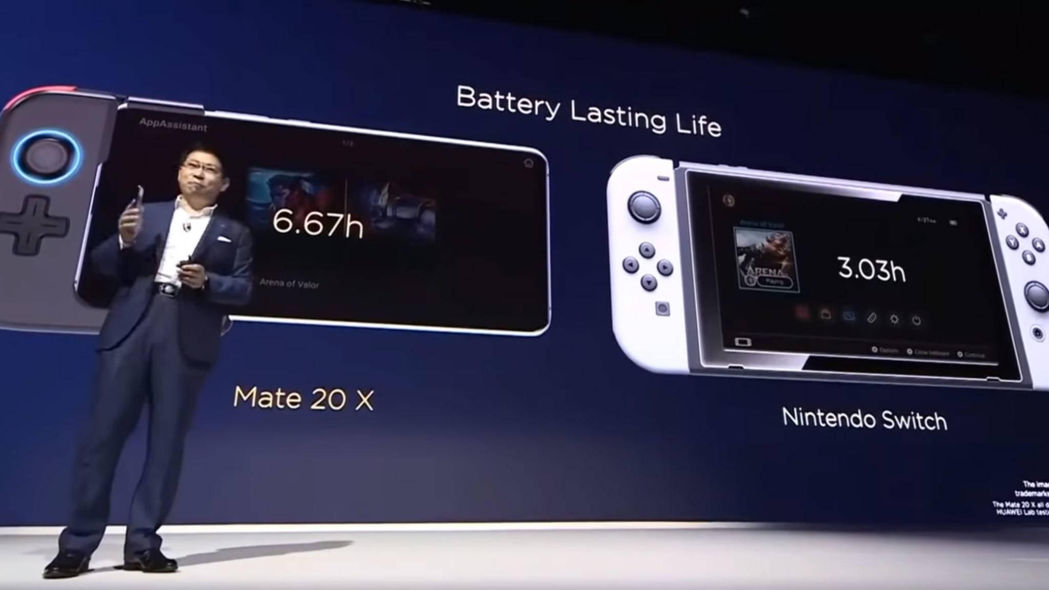 Ist das Huawei Mate 20 X wirklich besser als die Nintendo Switch?