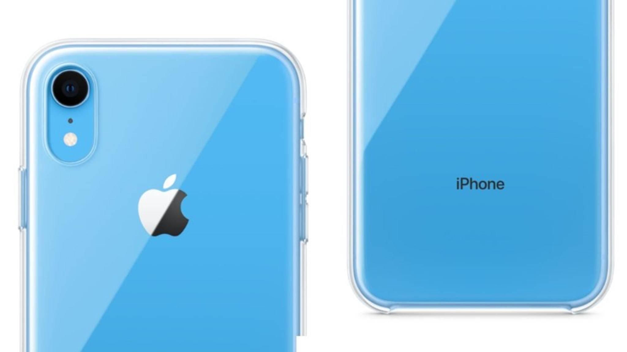 Sonderlich spektakulär sieht das Clear Case von Apple für das iPhone XR nicht aus.