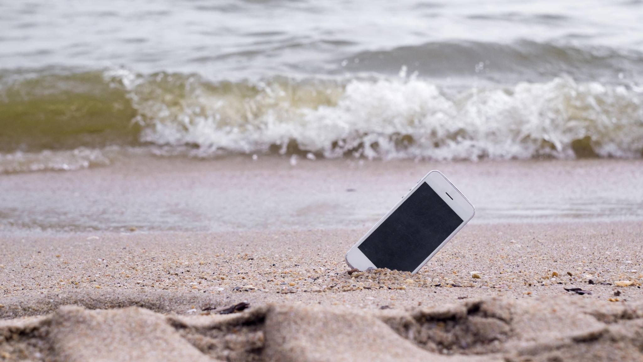 """Bei einem verschollenen iPhone sollte der """"Verloren""""-Modus aktiviert werden."""