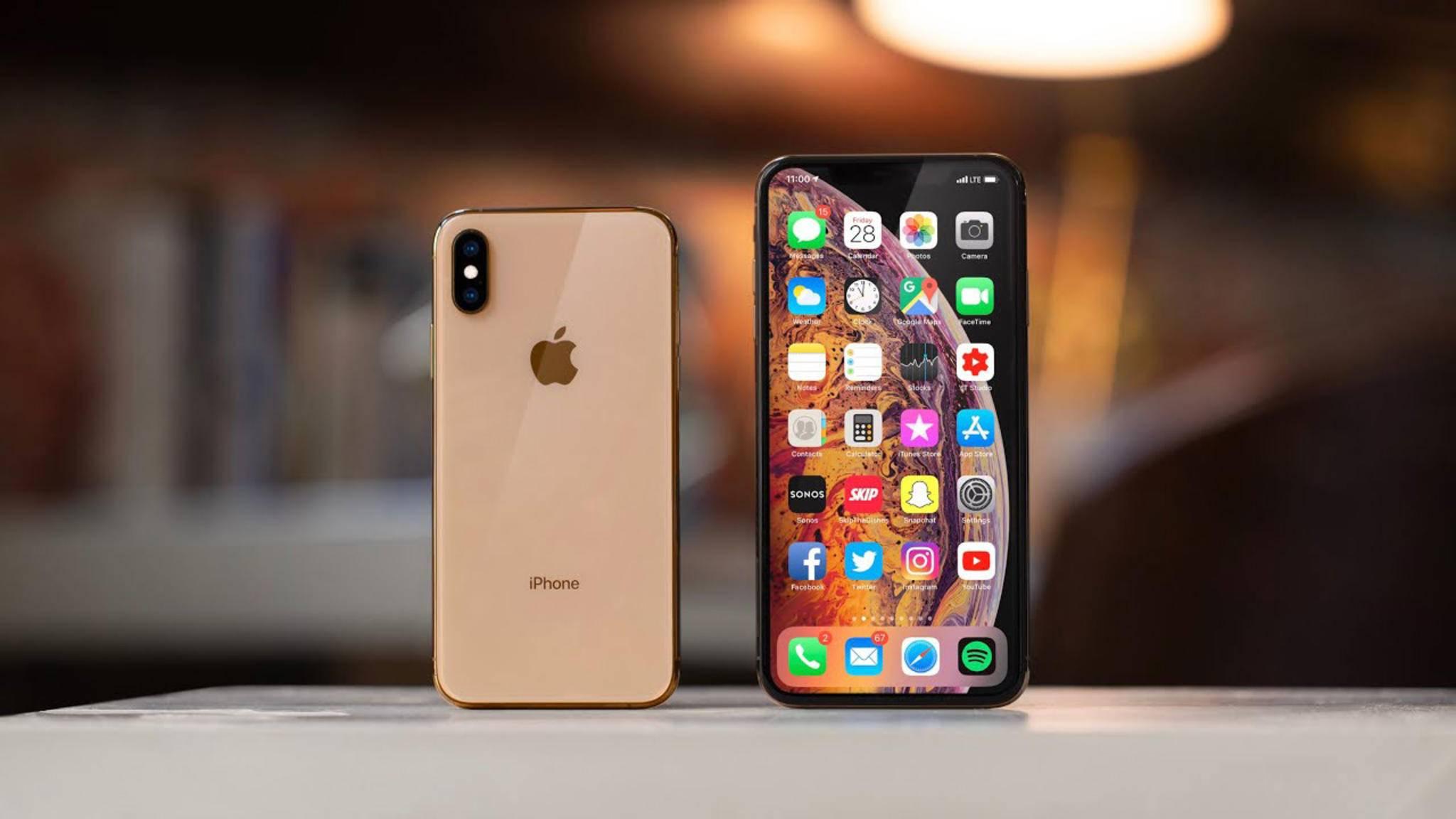 Müssen sich nur dem Huawei P20 Pro geschlagen geben: Das iPhone XS und das iPhone XS Max.