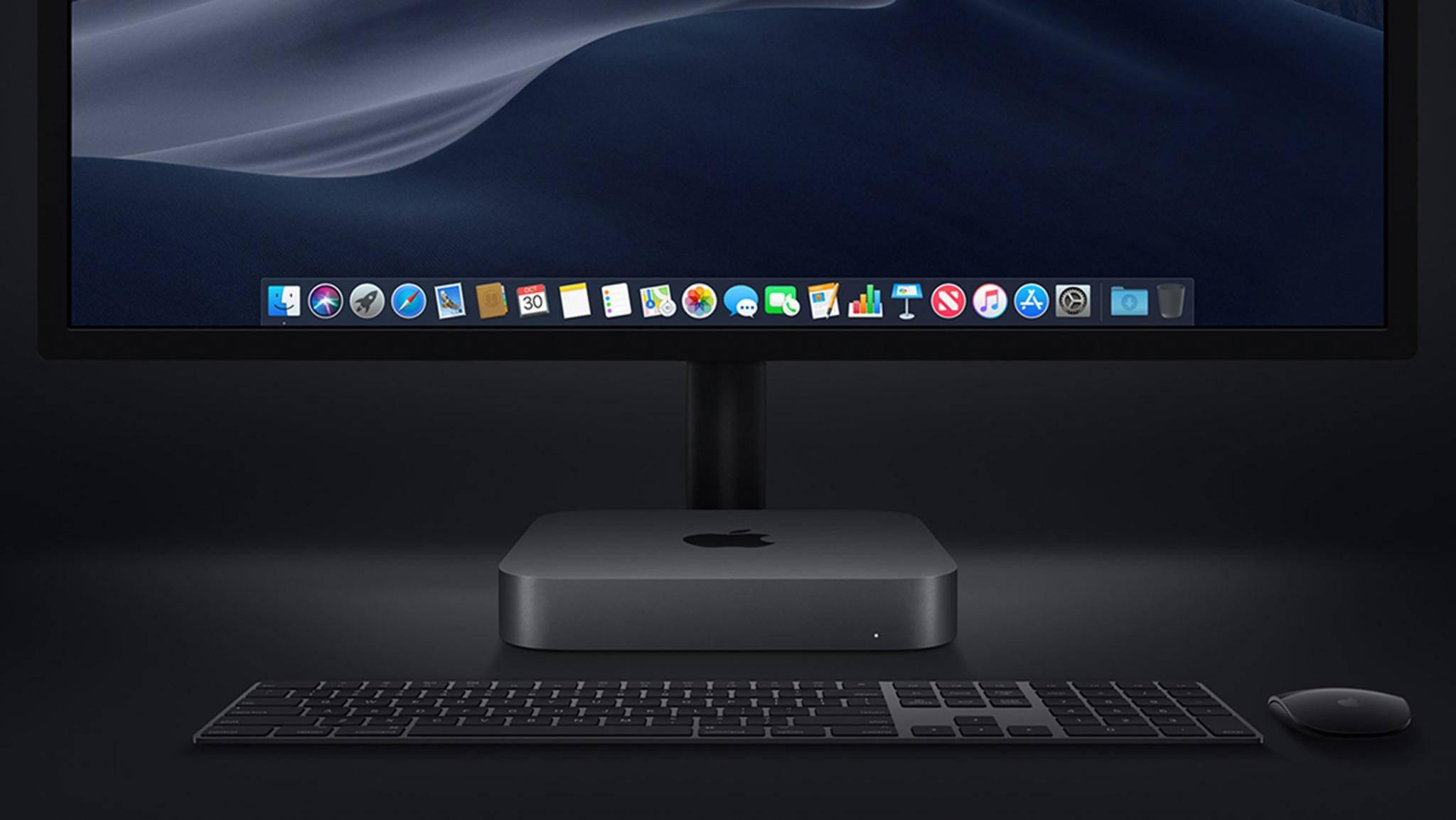 Die Module sollen nur minimal größer als der jetzige Mac mini sein.
