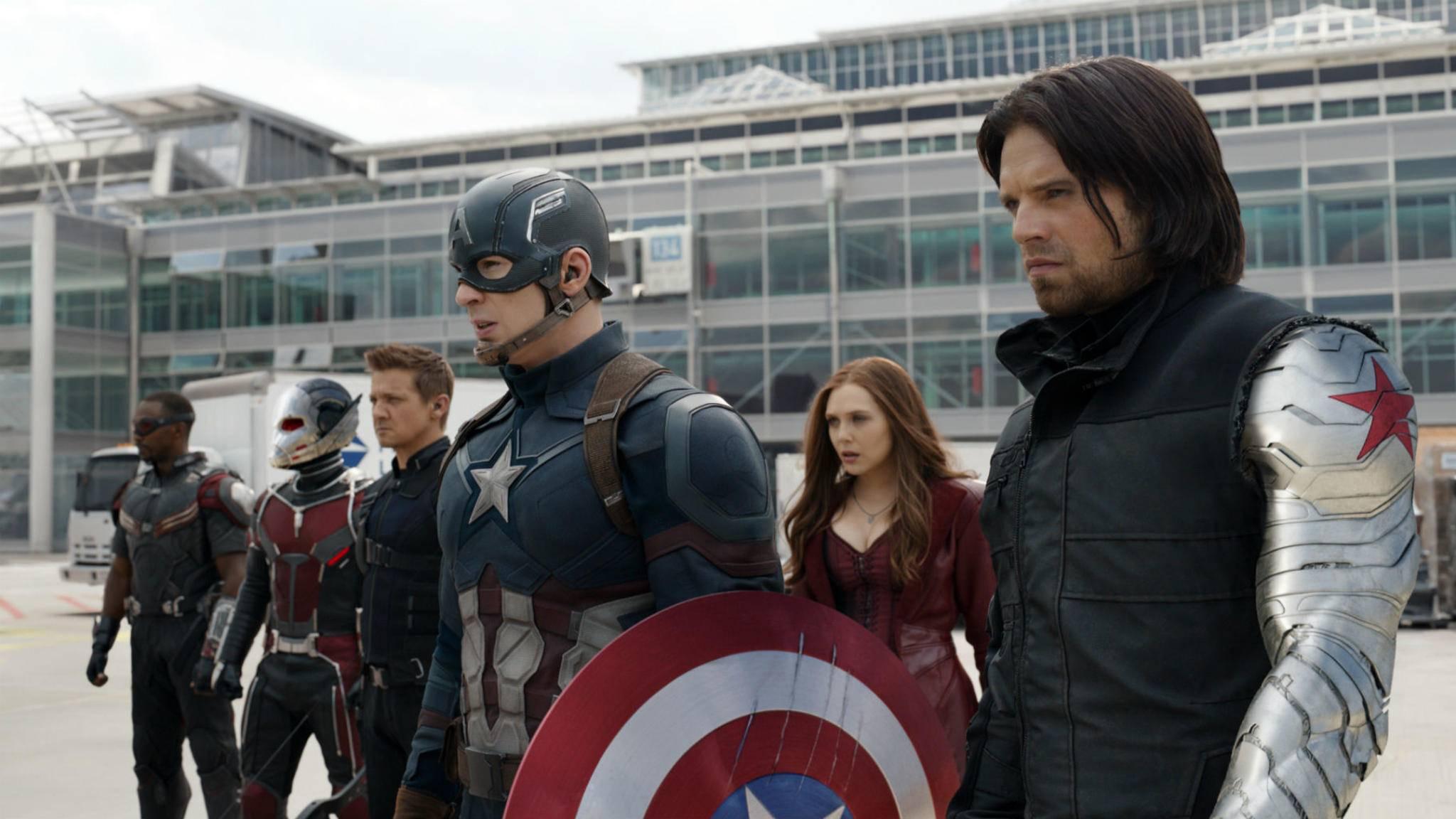 Bald mit eigener Serie: Falcon (links) und Winter Soldier (rechts).