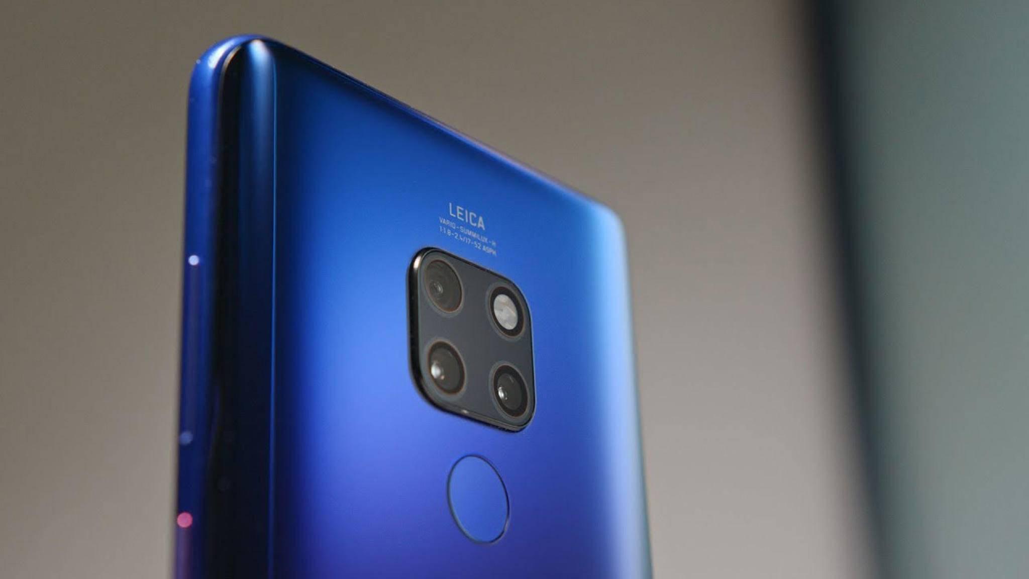Die Vorstellung des Huawei Mate 20 Pro war eines der Wochen-Highlights.