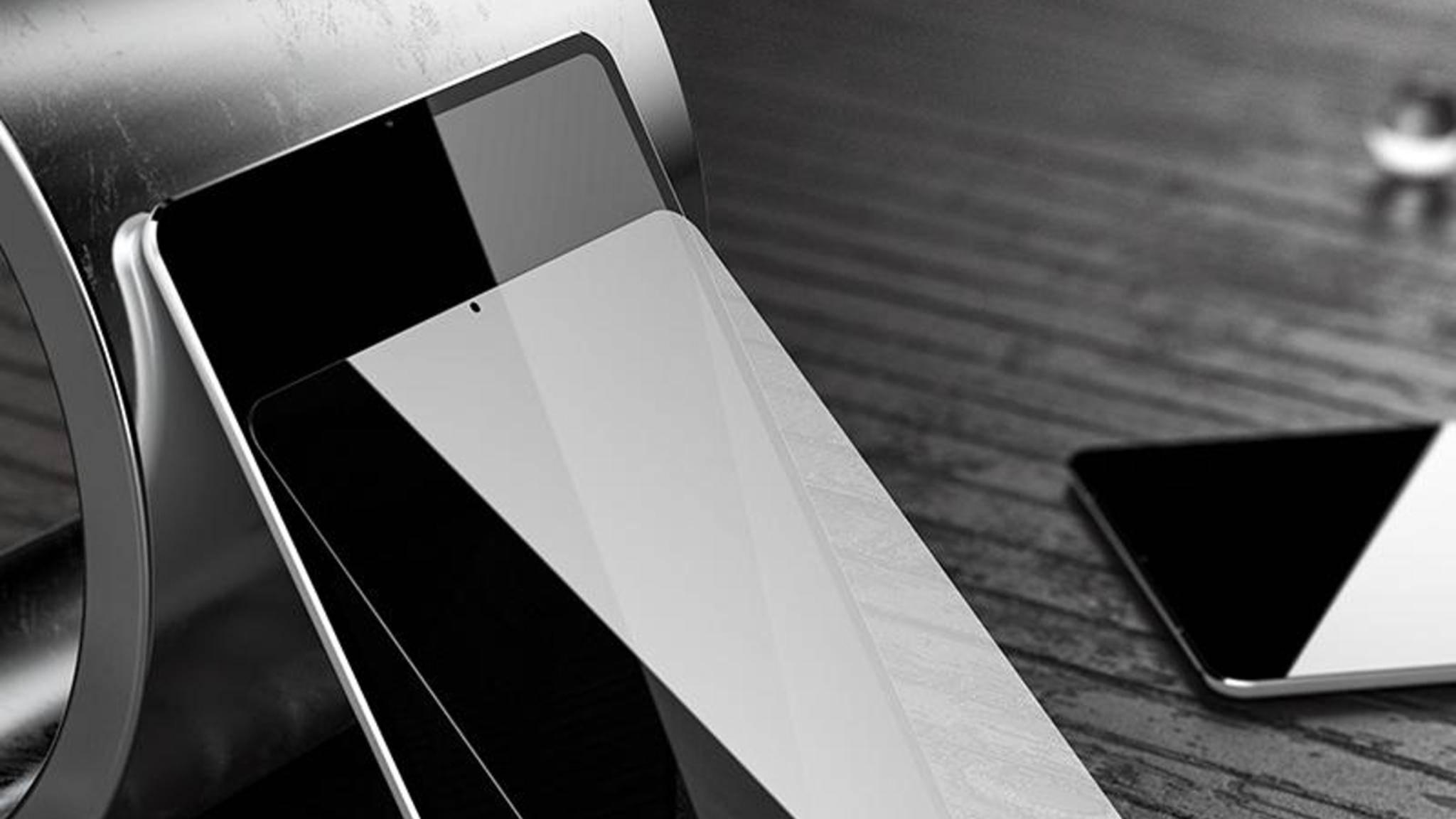 Echt oder nur Vision: Ein Render-Konzept des iPad Pro 2018 von Benks.