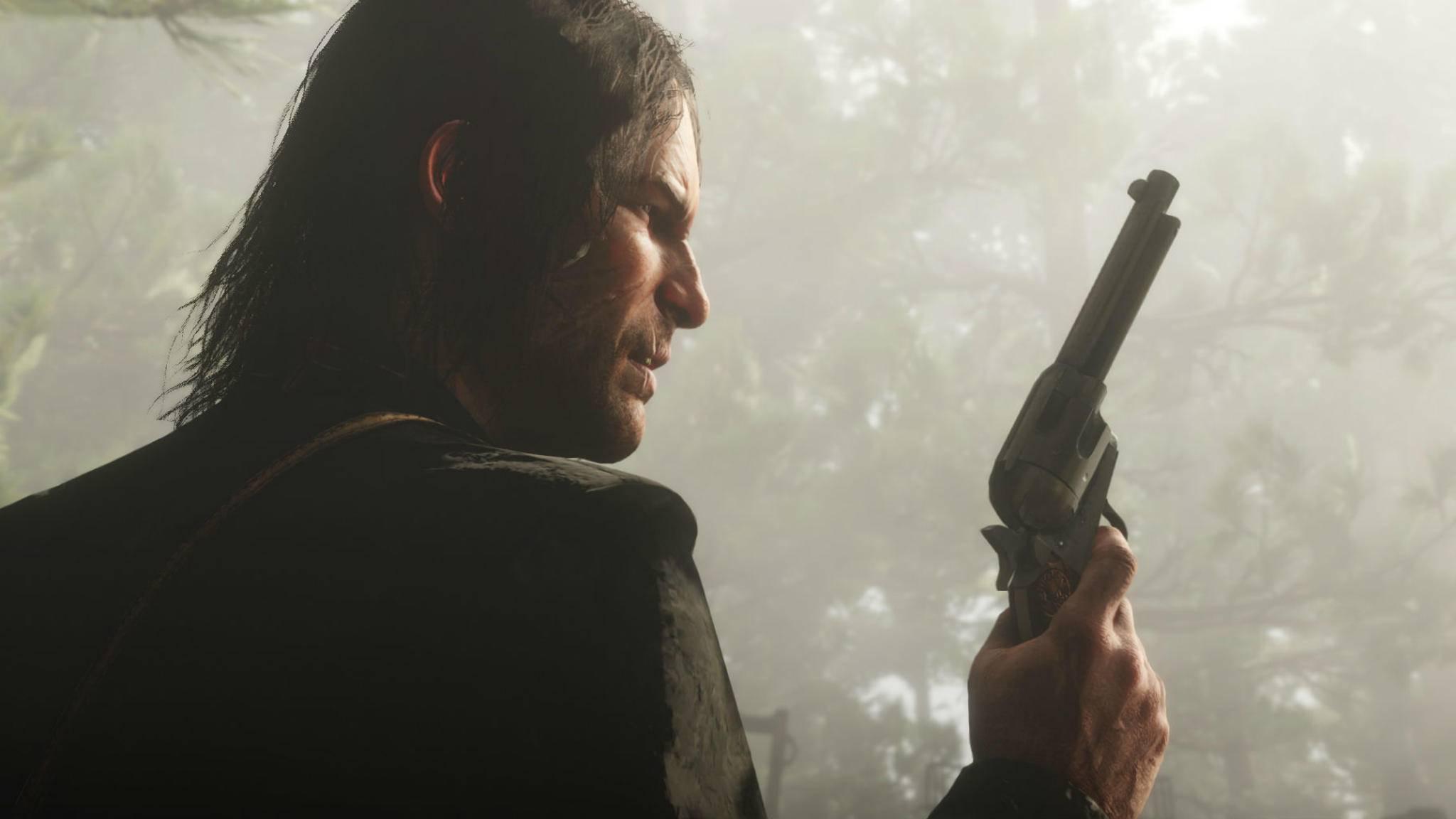 """Vor dem Start von """"Red Dead Redemption 2"""" steht wie erwartet noch eine kleine Hürde ..."""