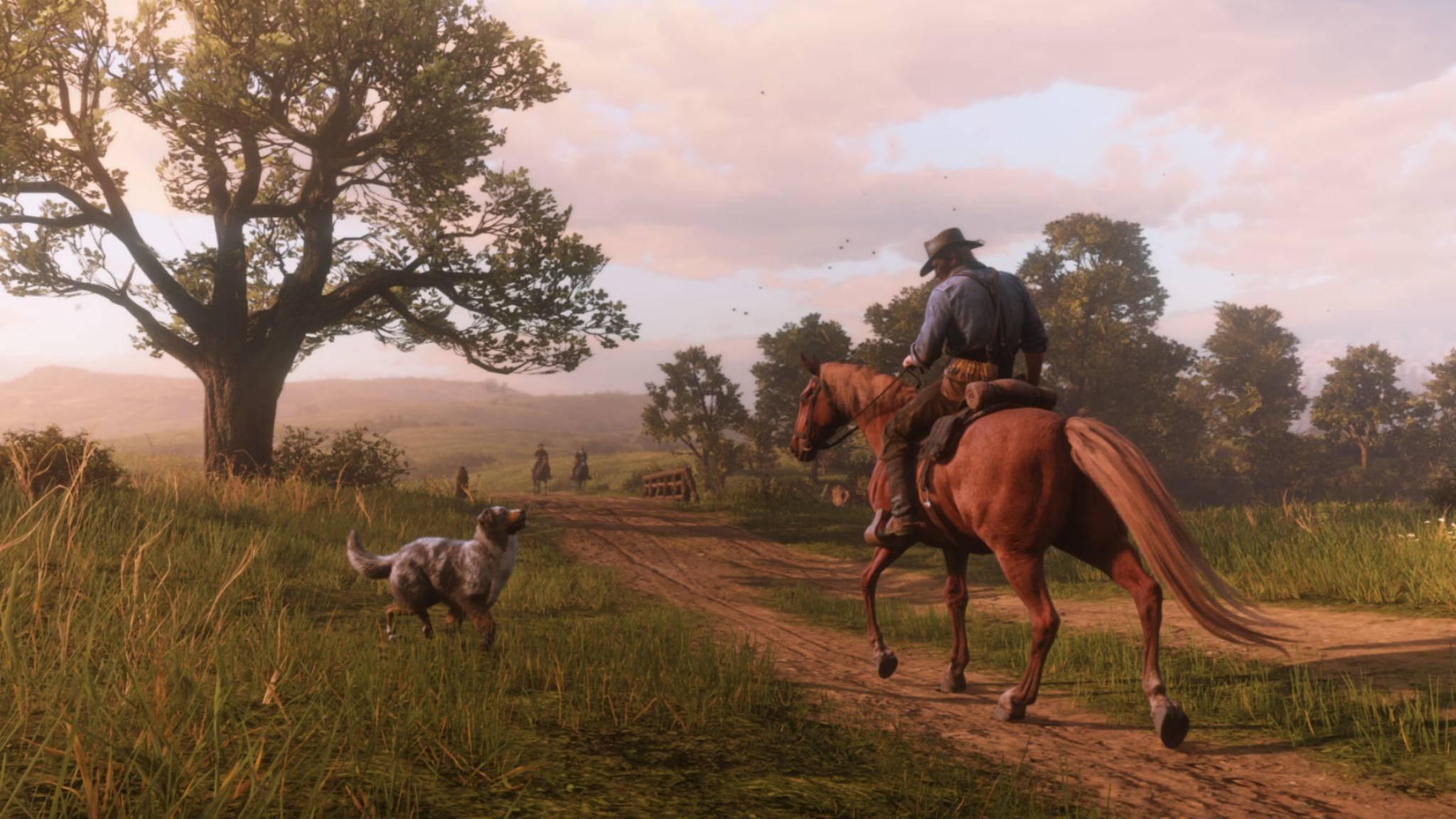 """""""Red Dead Redemption 2"""" verlangt seinen Spielern viel Geduld ab."""