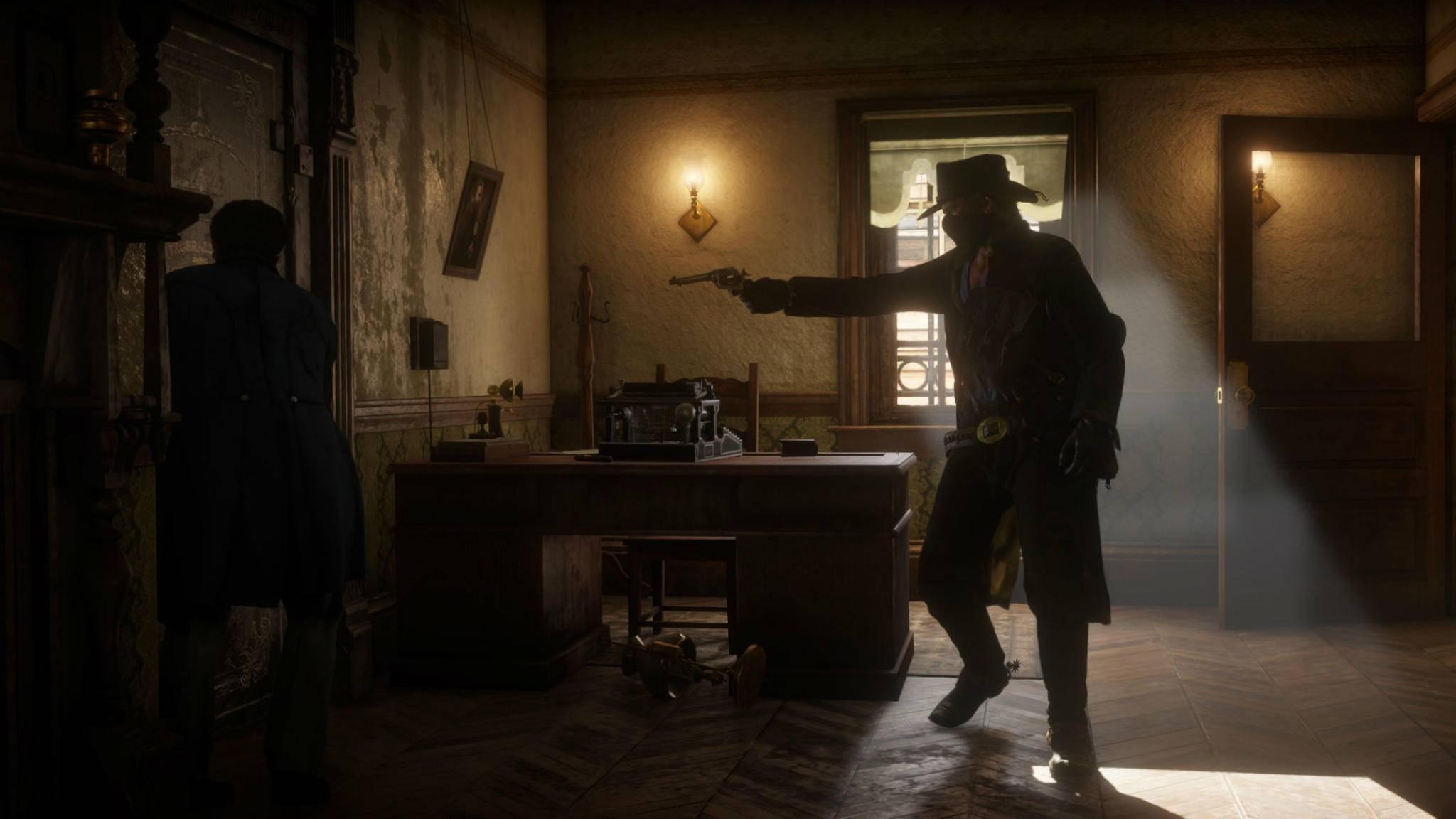 """In """"Red Dead Redemption 2"""" gibt es verschiedene Hinterzimmer zum Ausrauben."""