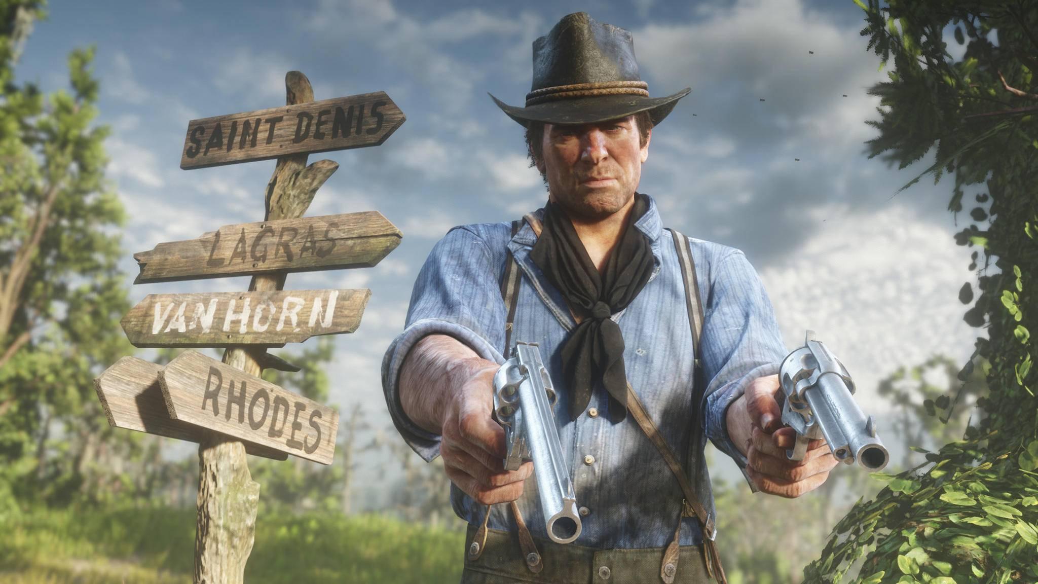 """Wo soll's denn hingehen? """"Red Dead Redemption 2"""" hat zahlreiche Reiseziele zu bieten."""