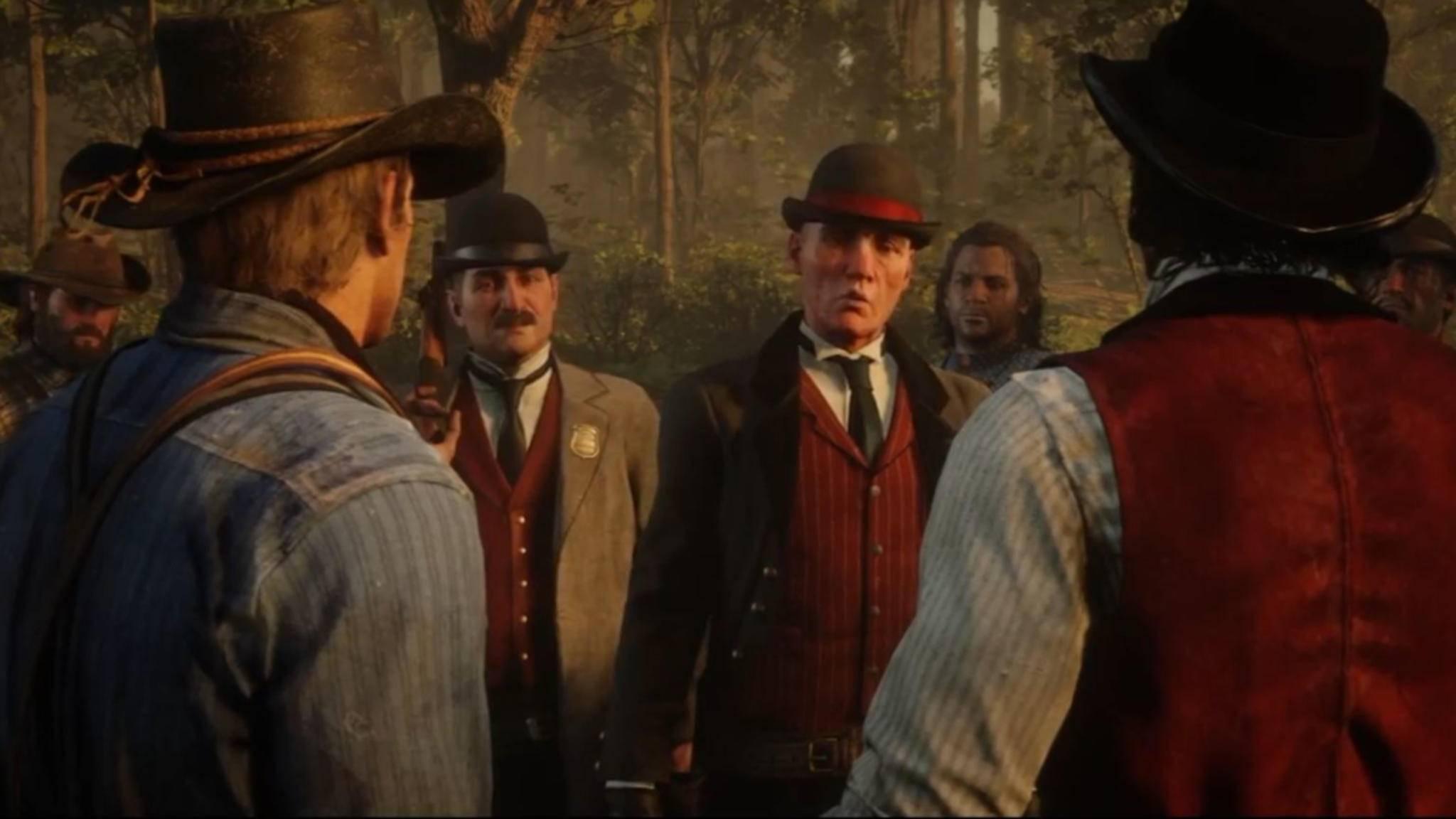"""Ärger um """"Red Dead Redemption 2"""": Die Pinkertons gab es wirklich."""