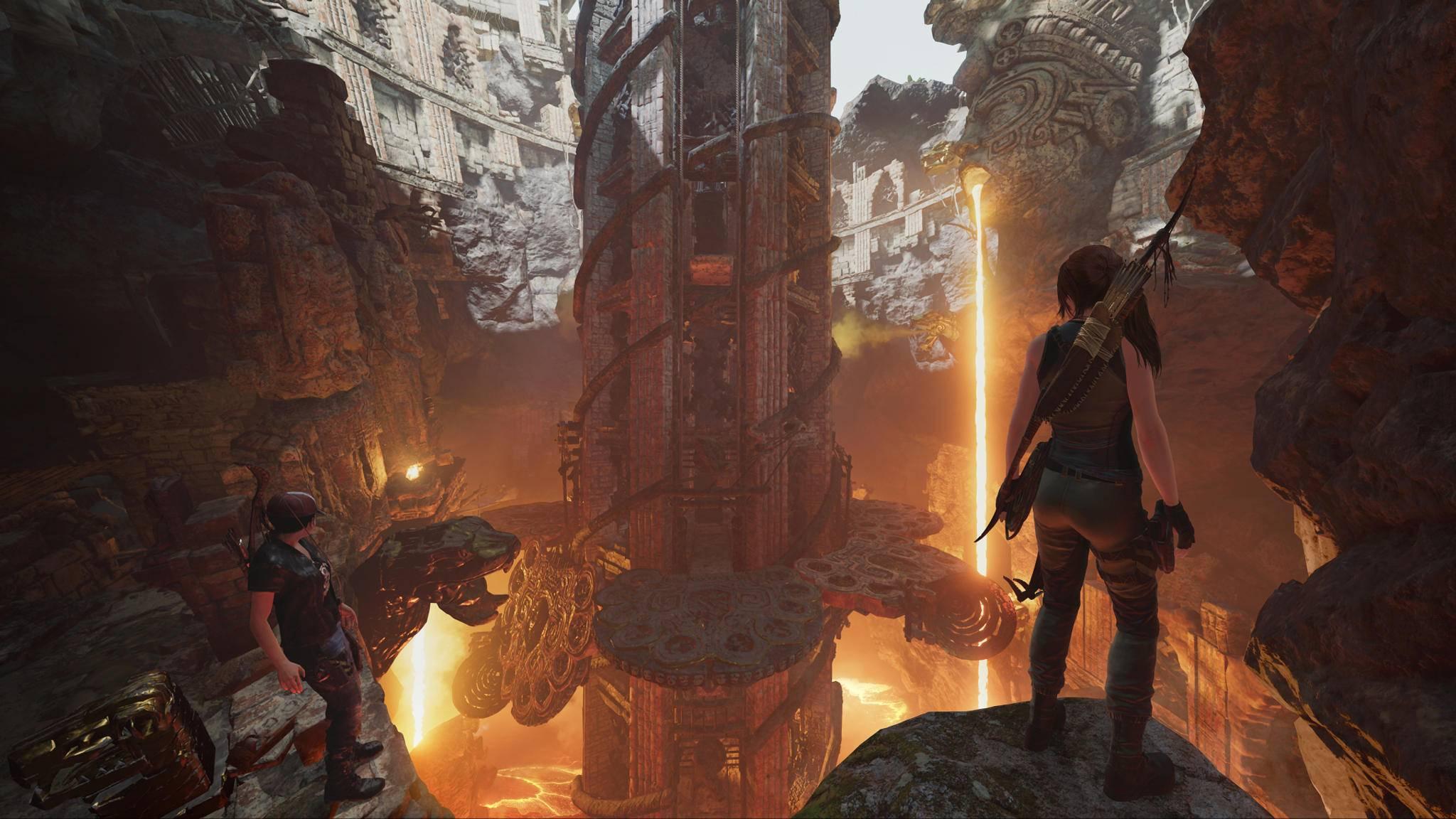 """In """"Die Schmiede"""" wartet ein neues Herausforderungs-Grab auf Lara Croft."""