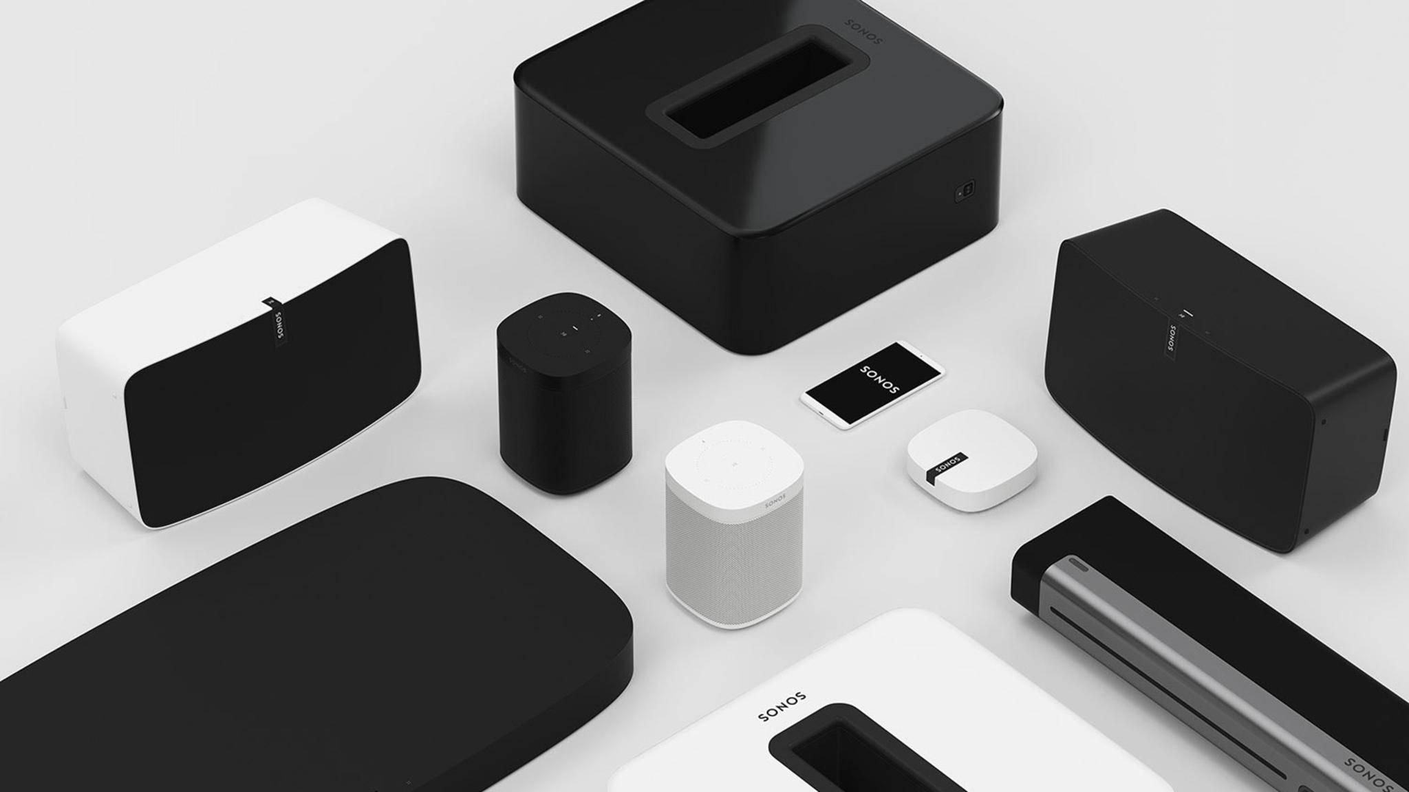 Sonos deckt mit seinem Lautsprecher-Portfolio die unterschiedlichsten Bedürfnisse ab.