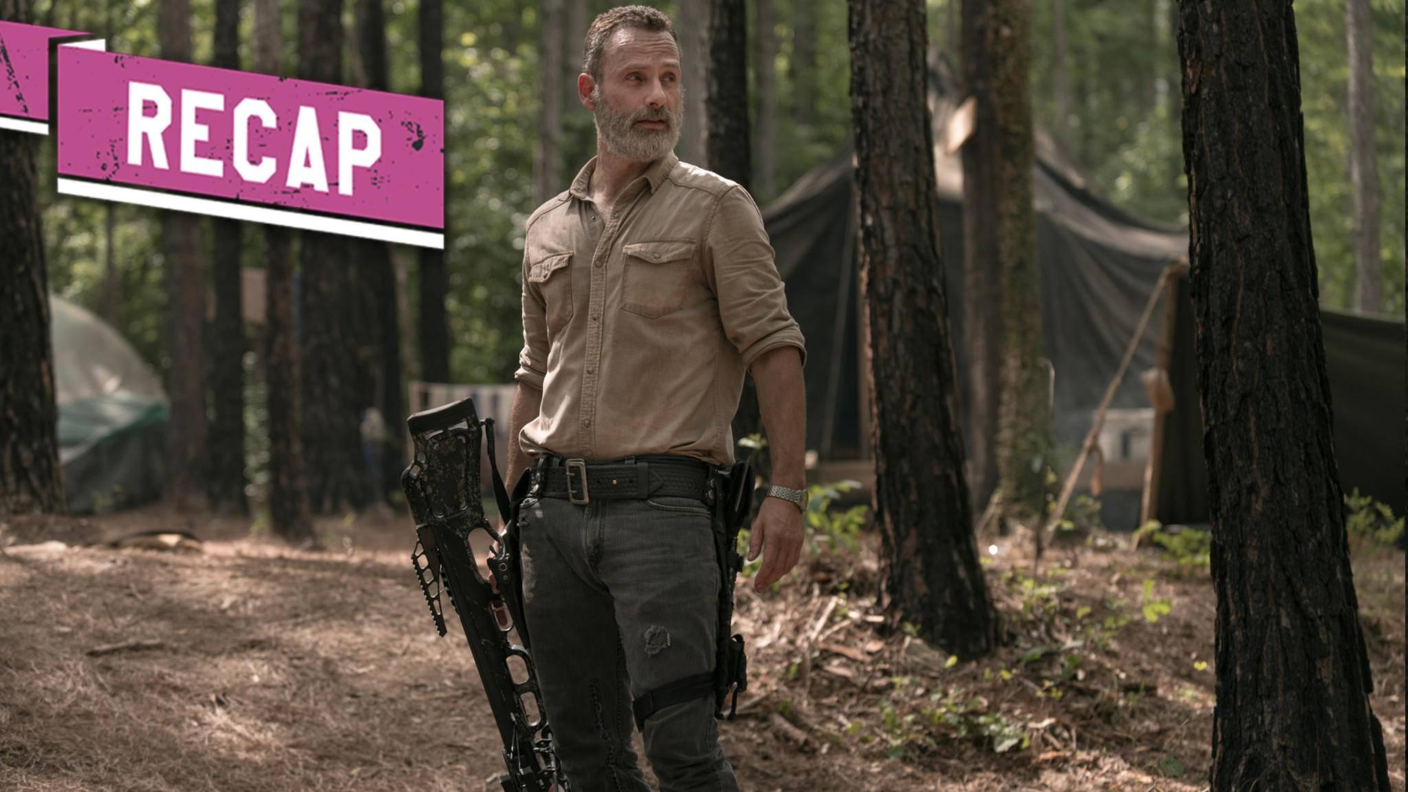 Der Abschied von Rick rückt merklich näher ...