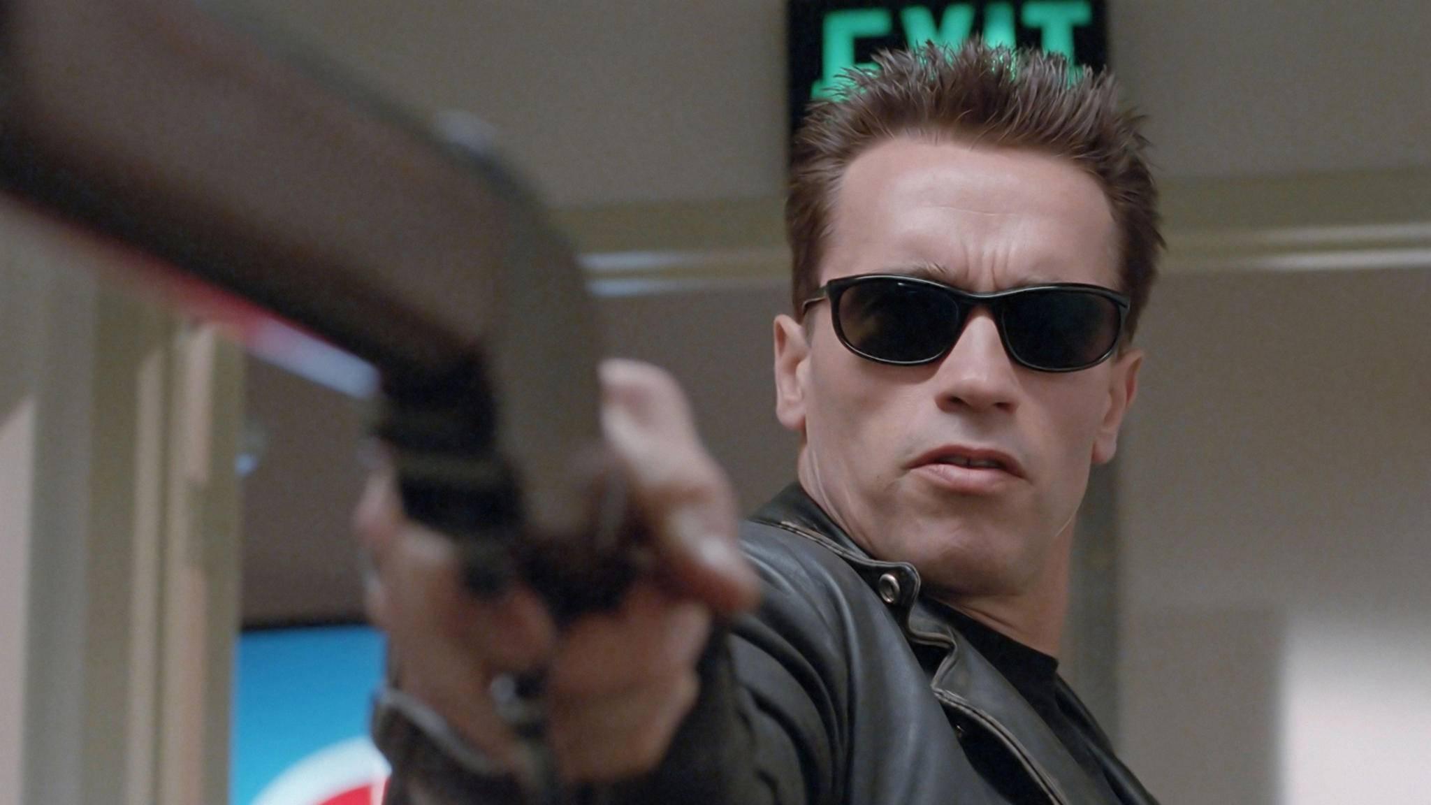 """2019 ist Arnie ein weiteres Mal """"back"""", denn dann erscheint der neuste Teil der """"Terminator""""-Reihenfolge."""