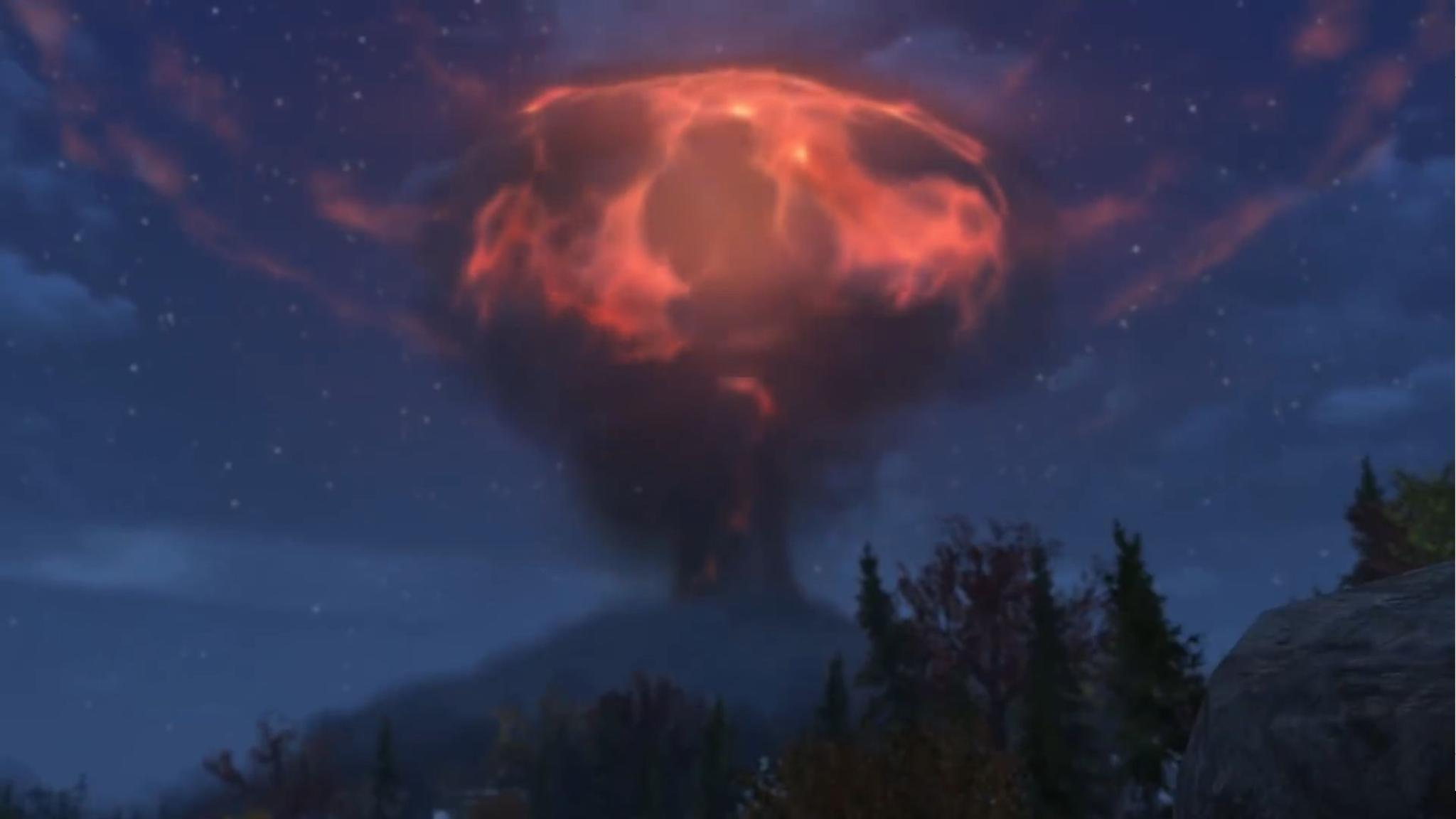 """Selbst Atomexplosionen sind im Endgame nichts Außergewöhnliches mehr – """"Fallout 76"""" braucht Content-Nachschub!"""