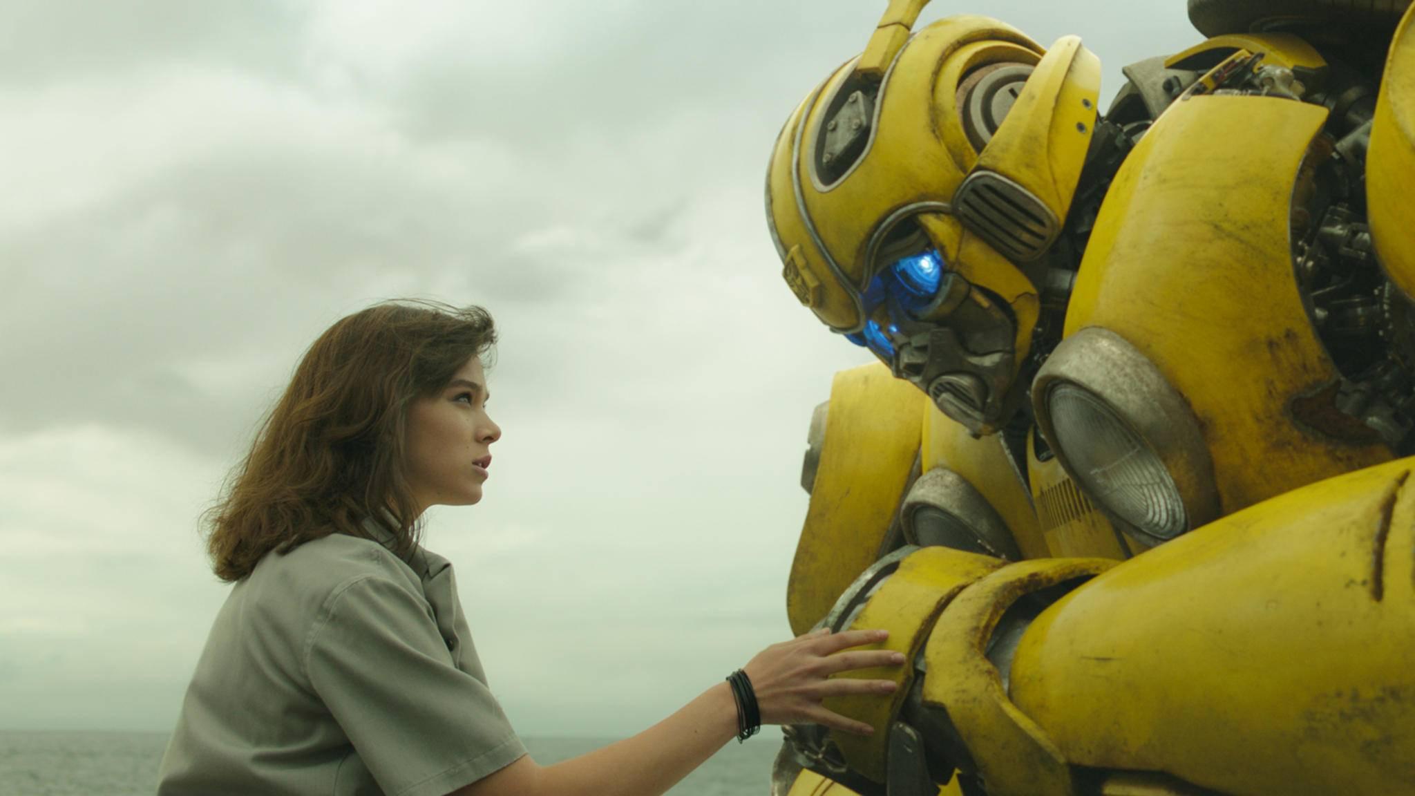 """Im Spin-off """"Bumblebee"""" kann der Autobot sprechen."""