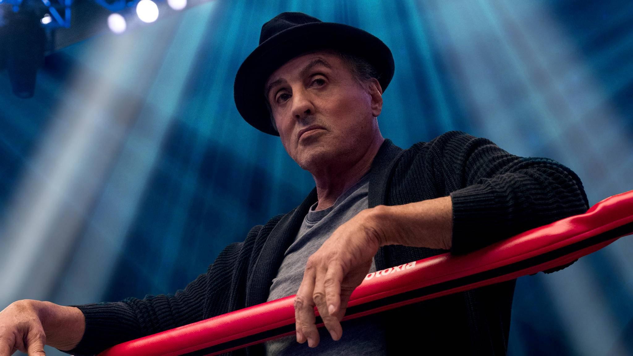 """Seine letzte Runde steht bevor: Rocky nimmt in """"Creed 2"""" seinen Abschied."""