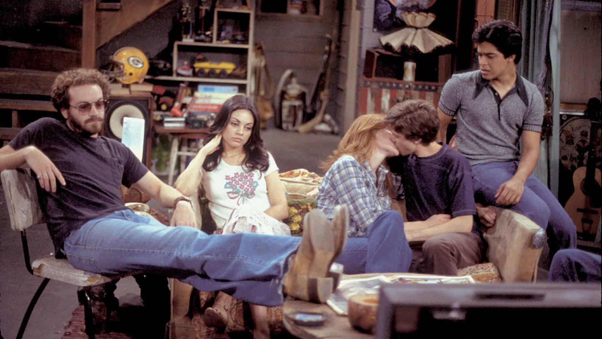 """Formans Keller war 200 Folgen lang das zweite Zuhause der """"Die wilden Siebziger""""-Clique."""