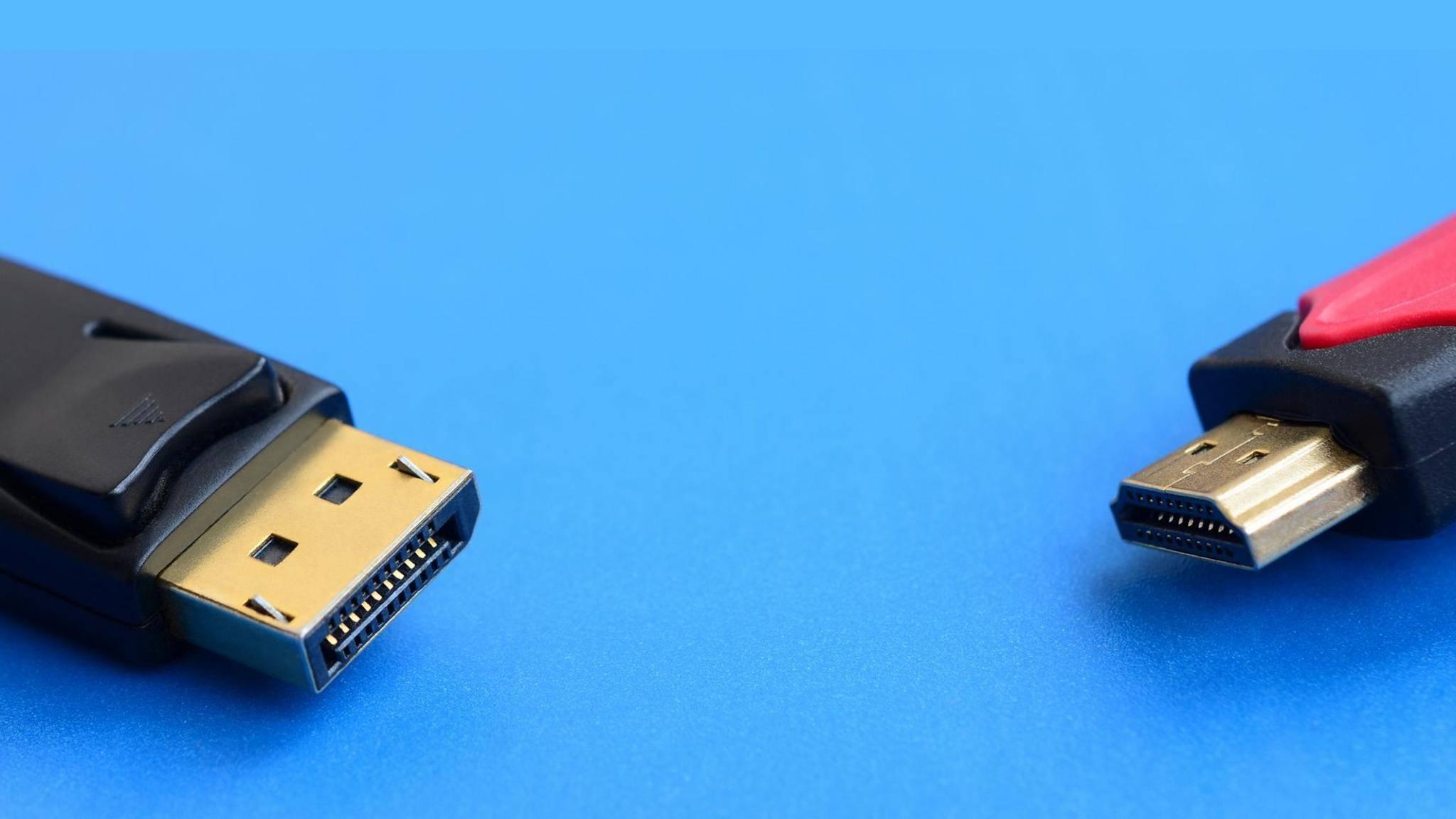 DisplayPort oder HDMI: Welcher Anschluss ist der bessere?