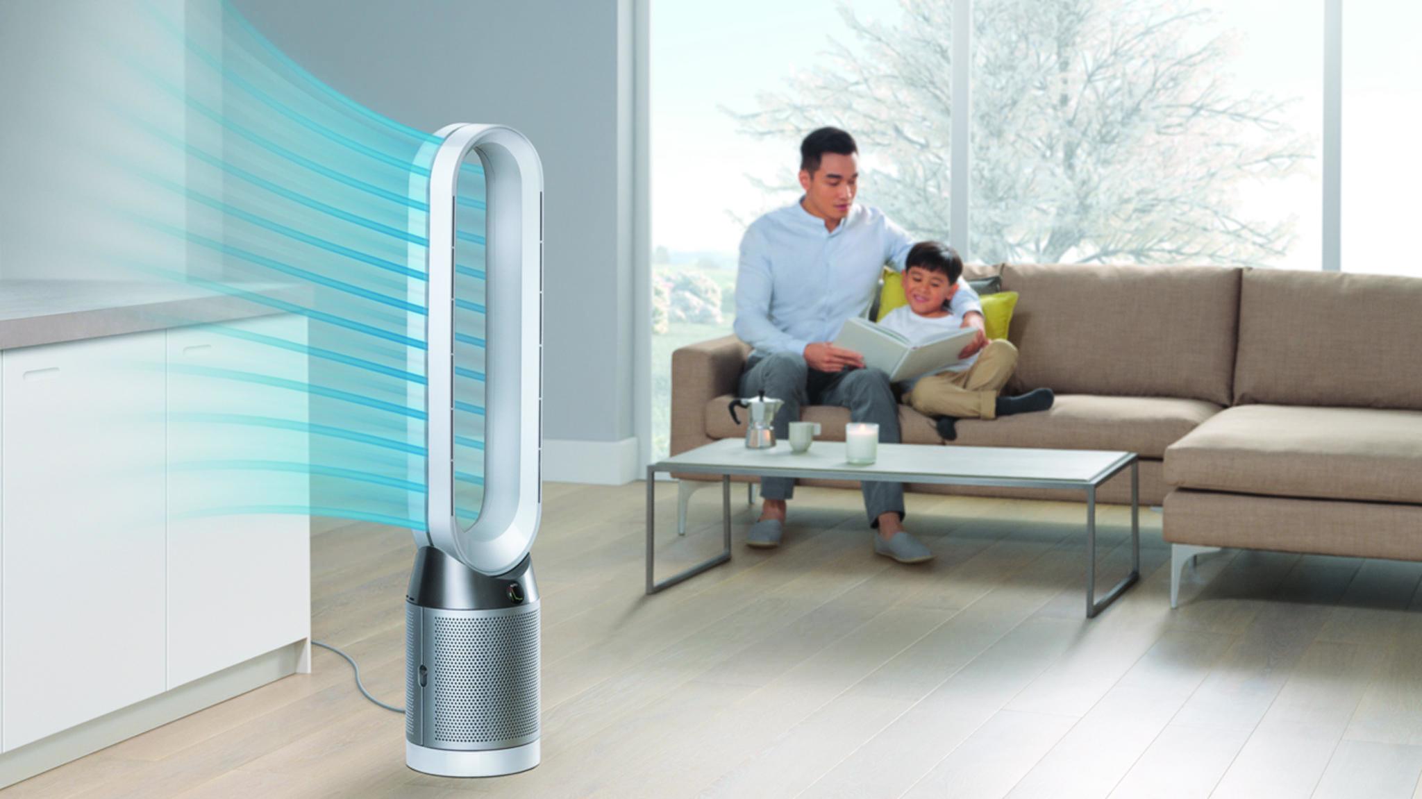Dysons Luftreiniger könnten bald mobil werden.