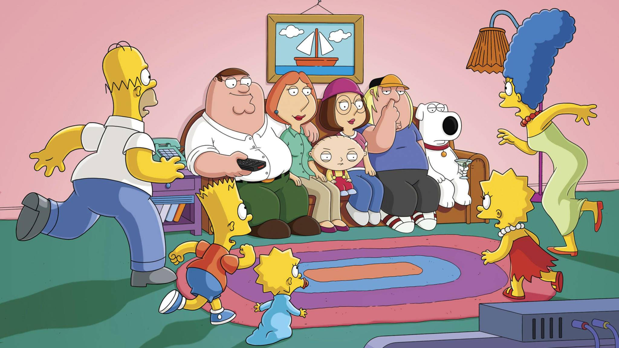 Familie Simpson oder Familie Griffin? Wir nehmen einfach beide!