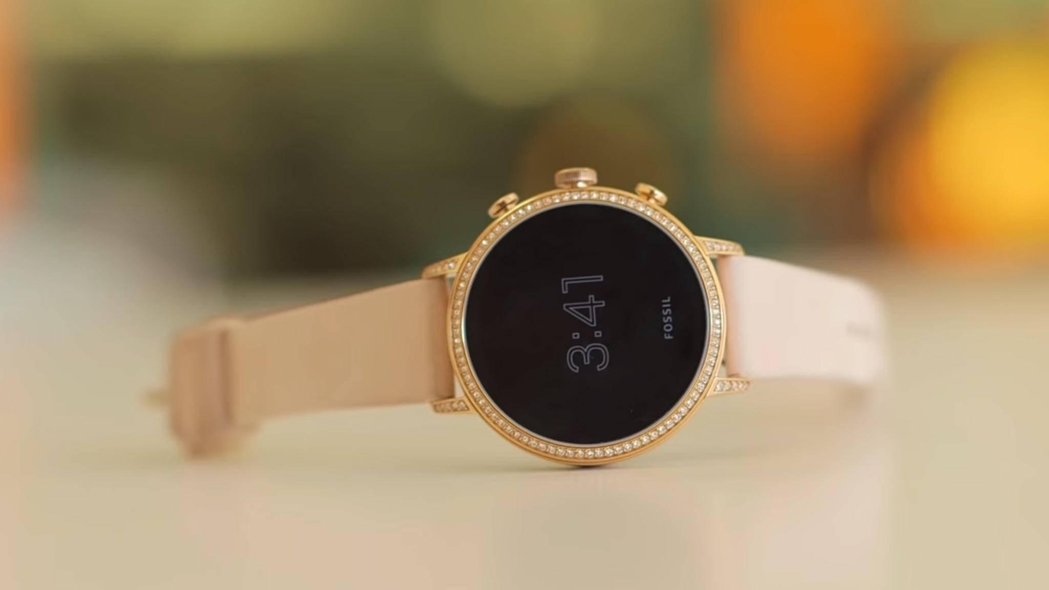 Google übernimmt Fossils Smartwatch-Sparte.