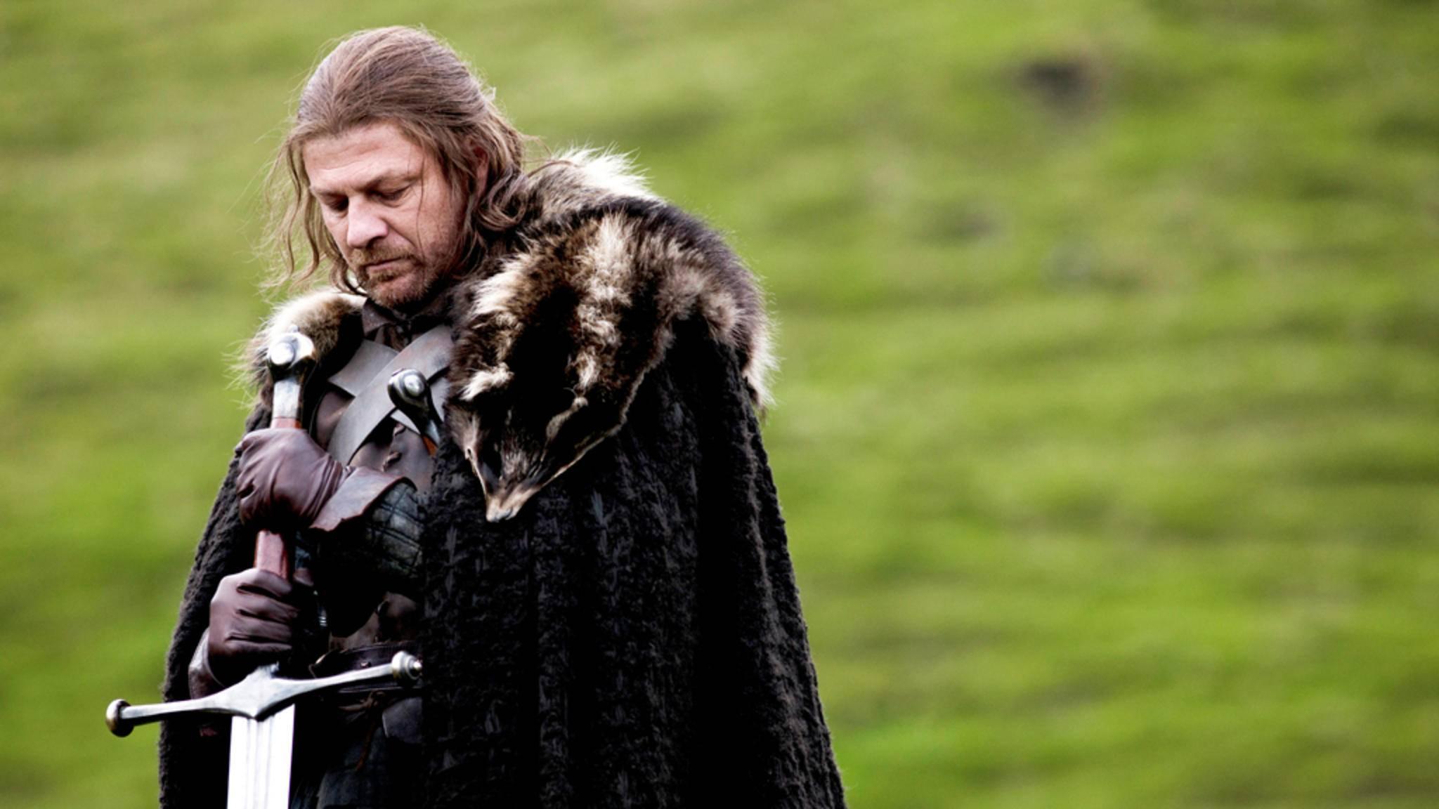 Von Ned Stark mussten wir uns eigentlich schon in Staffel 1 verabschieden ... eigentlich.