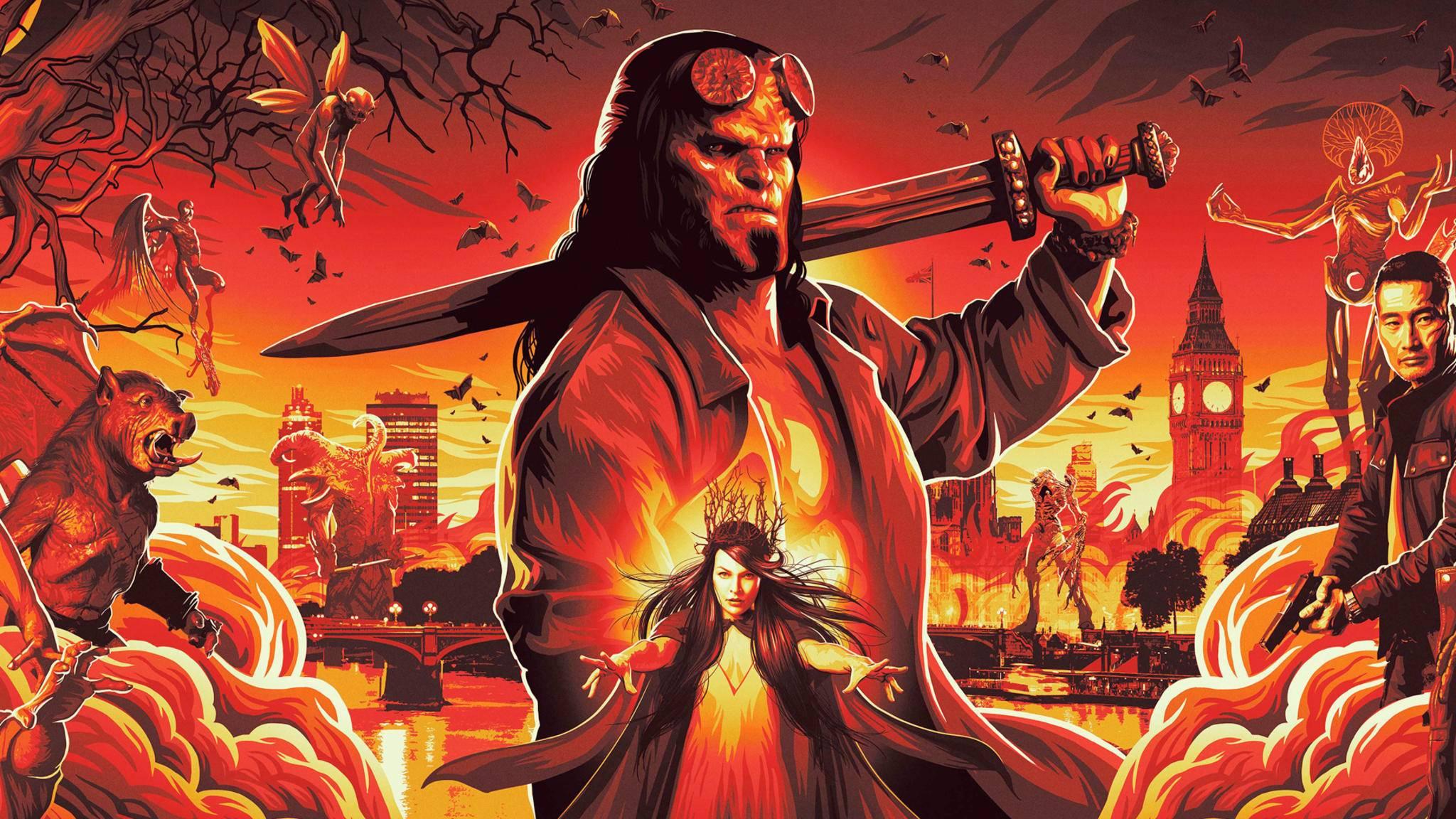 Hellboy lässt im Reboot die Hölle los.