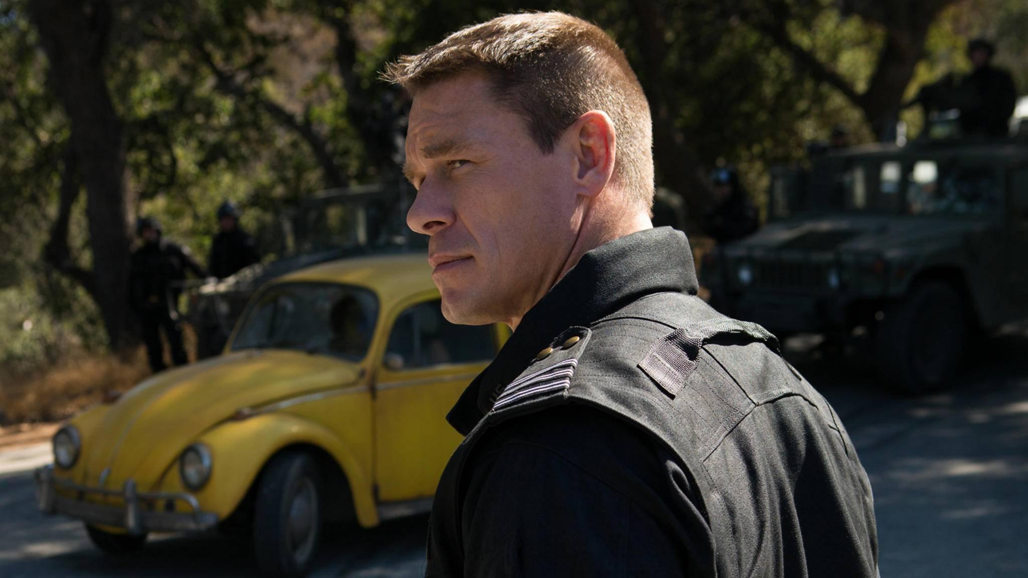 """Jetzt der Antagonist in """"Bumblebee"""", bald Captain America? John Cena wäre für diese Idee zu haben."""