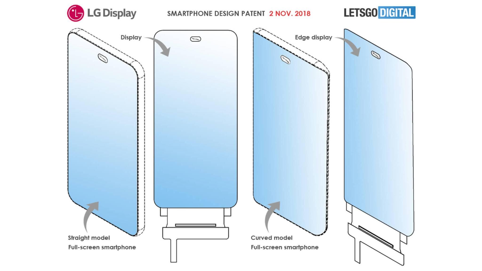 Ein möglicher Nachfolger des LG G7 ThinQ bietet ein komplett randloses Display.