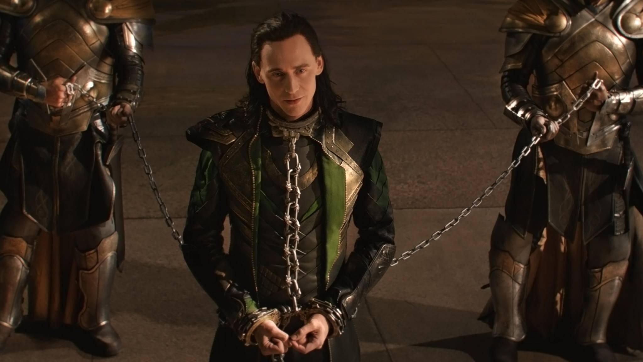 """Tom Hiddleston wird in der kommenden """"Loki""""-Serie von Disney+ viel Screentime bekommen."""