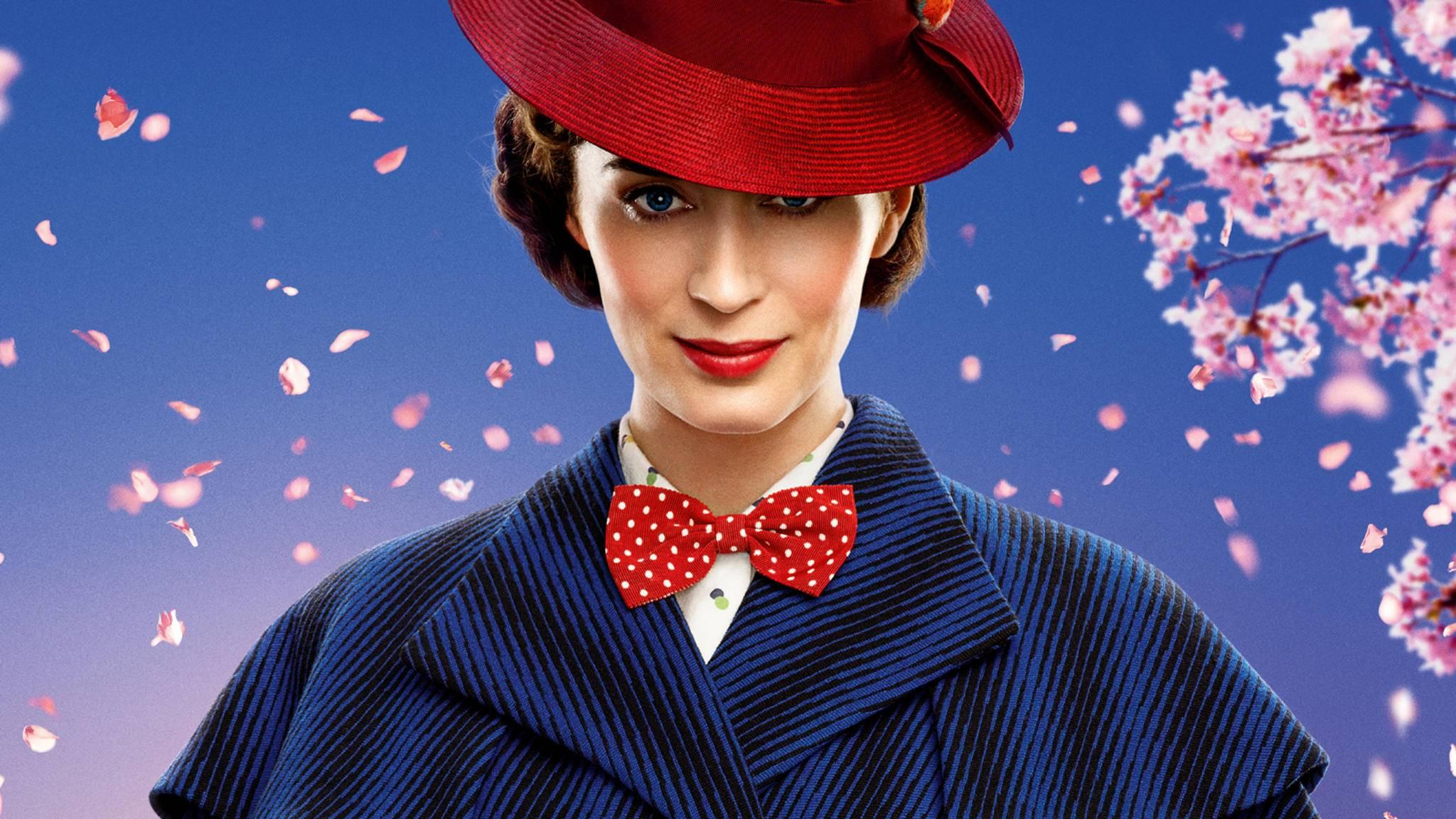 """In """"Mary Poppins' Rückkehr"""" erwartet uns ein ganz neues magisches Kindermädchen."""