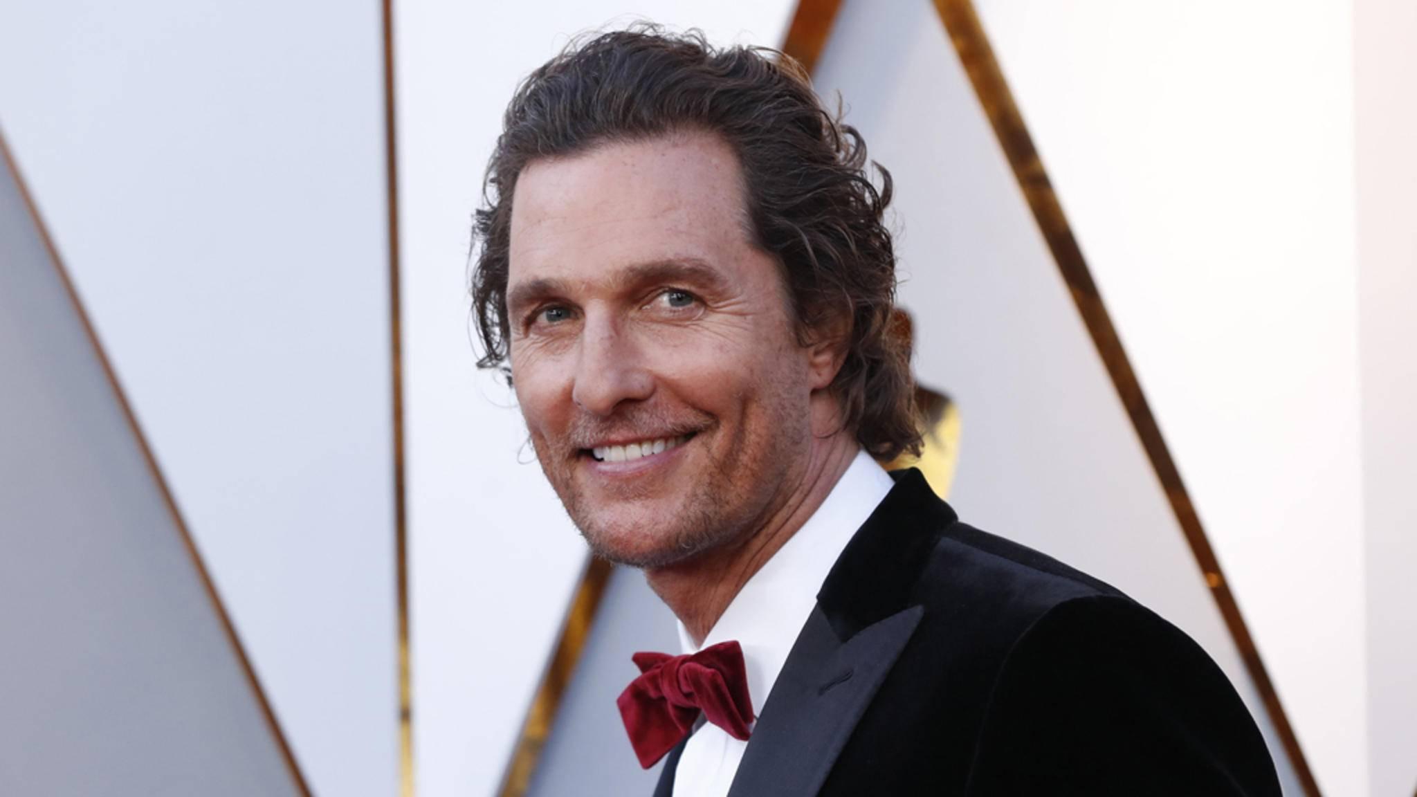 Eine Gutenachtgeschichte von Matthew McConaughey bekommen nicht mehr nur seine Kinder zu hören.
