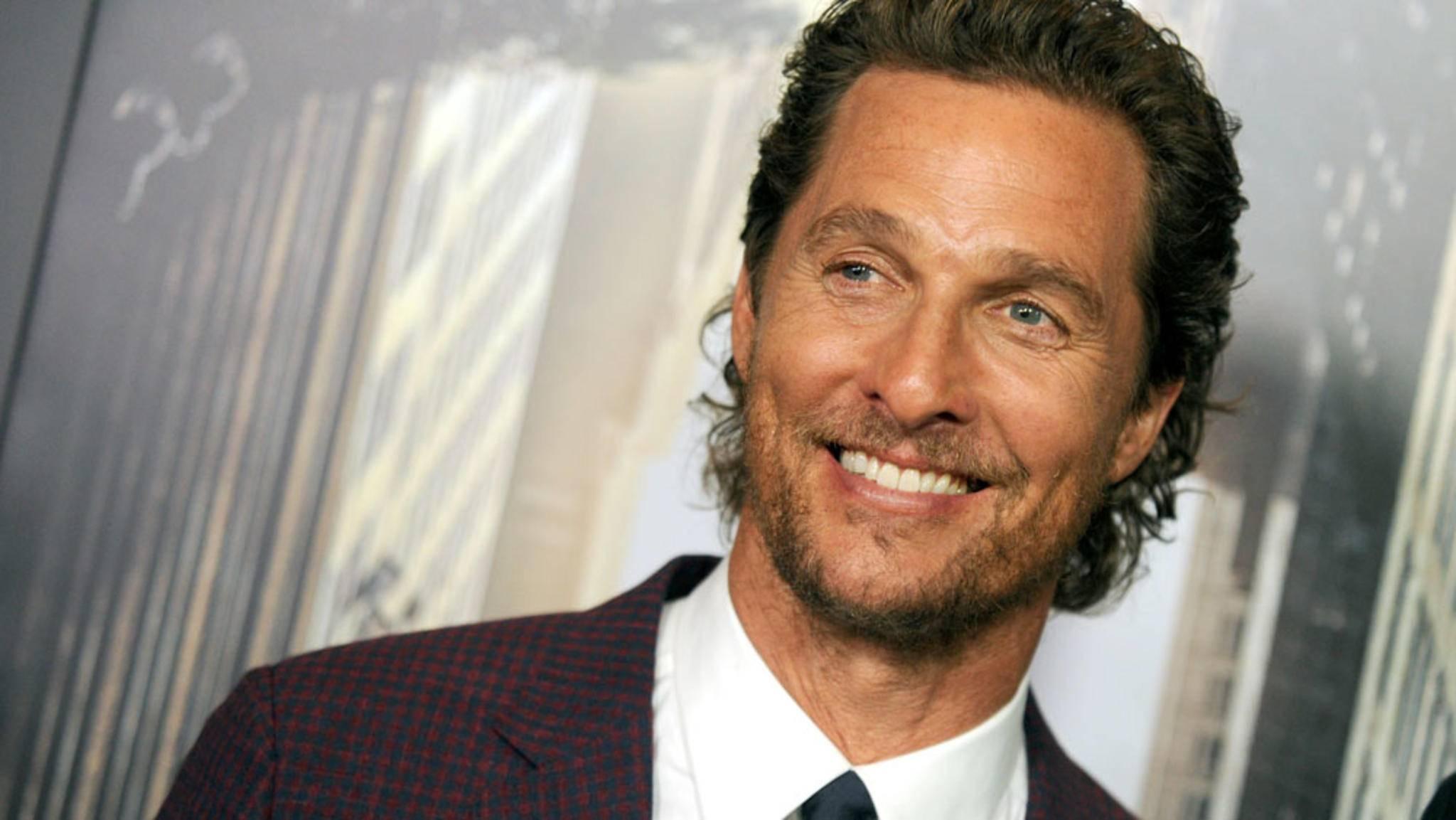 Kaum zu glauben, aber wahr: Matthew McConaughey hat bereits über 25 Jahre Hollywood-Karriere auf dem Buckel!