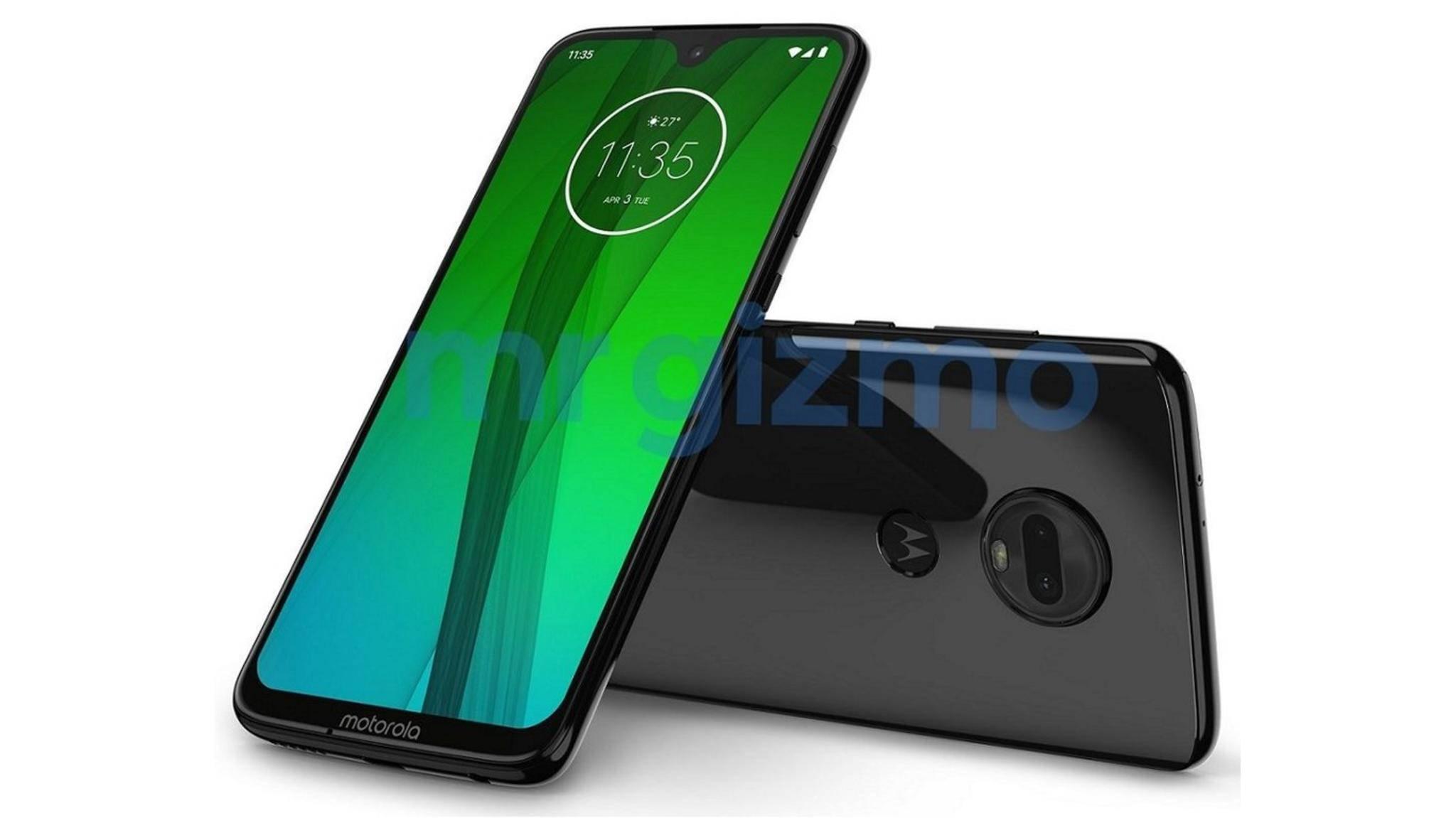 Motorola Moto G7: Kommt mit Wassertropfen-Notch und Dual-Kamera