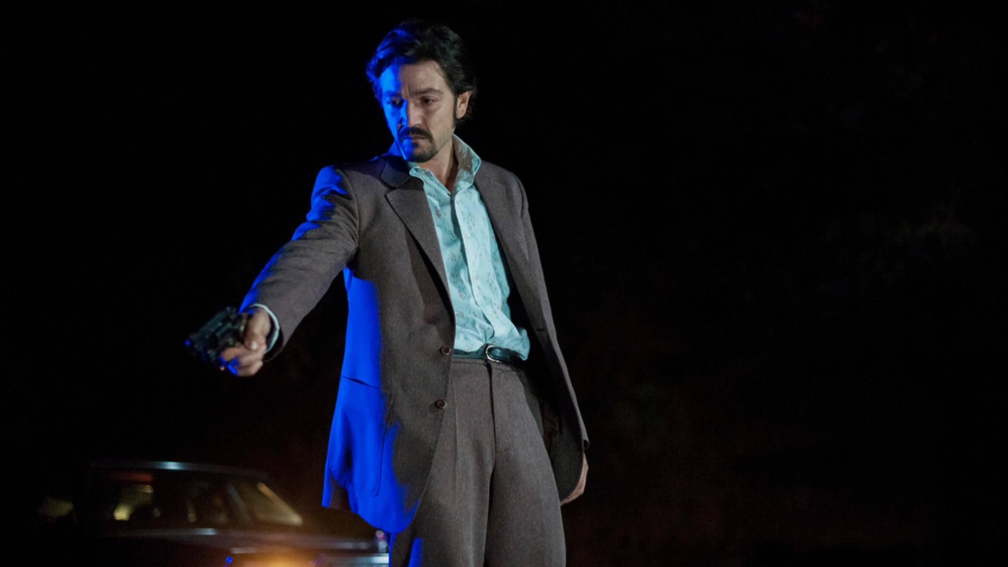 "Gallardo (Diego Luna) wird in ""Narcos: Mexico"" zu Pablo Escobar 2.0!"