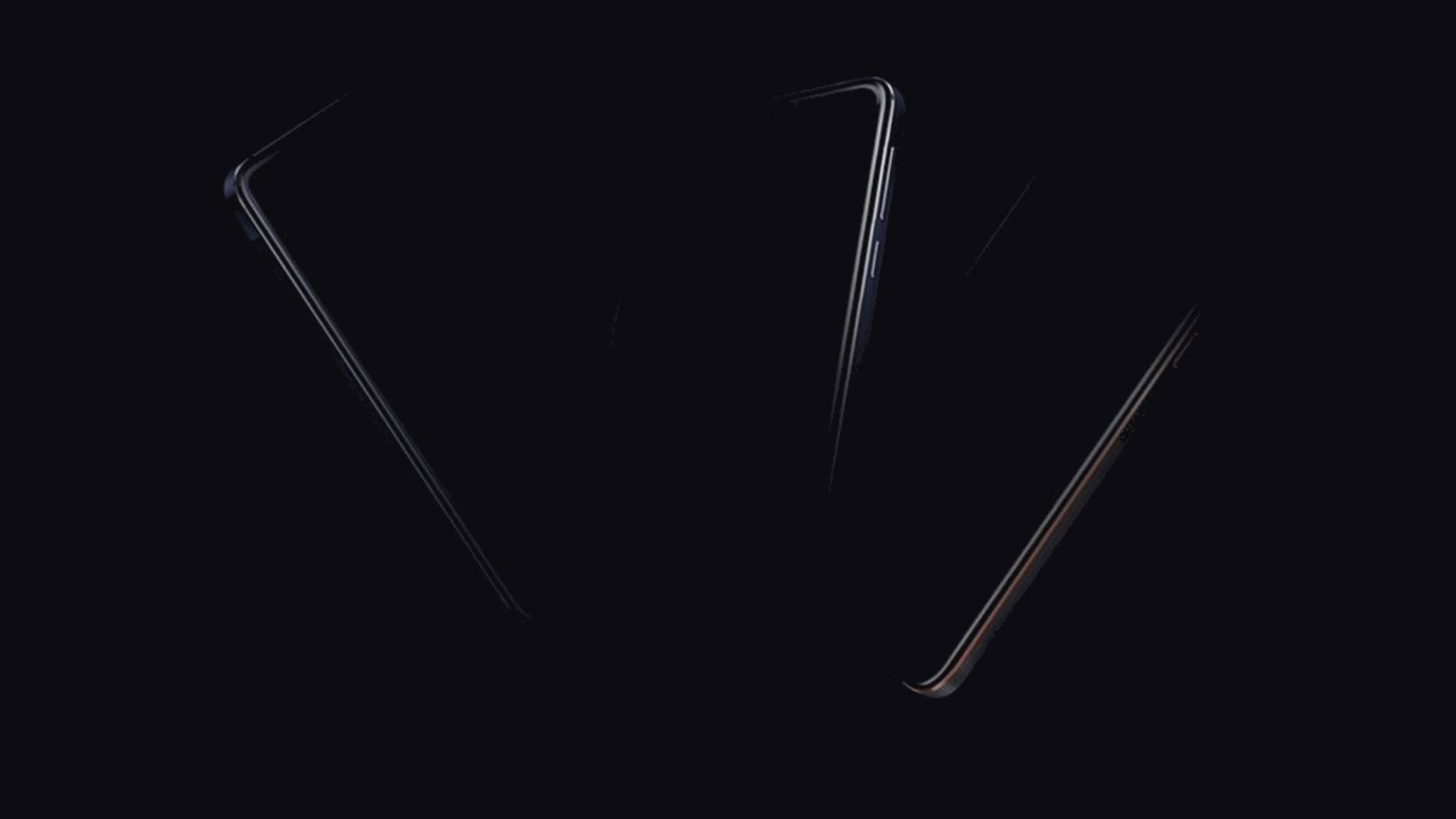 Hier sind die drei neuen Nokia-Smartphones (kaum) zu sehen.