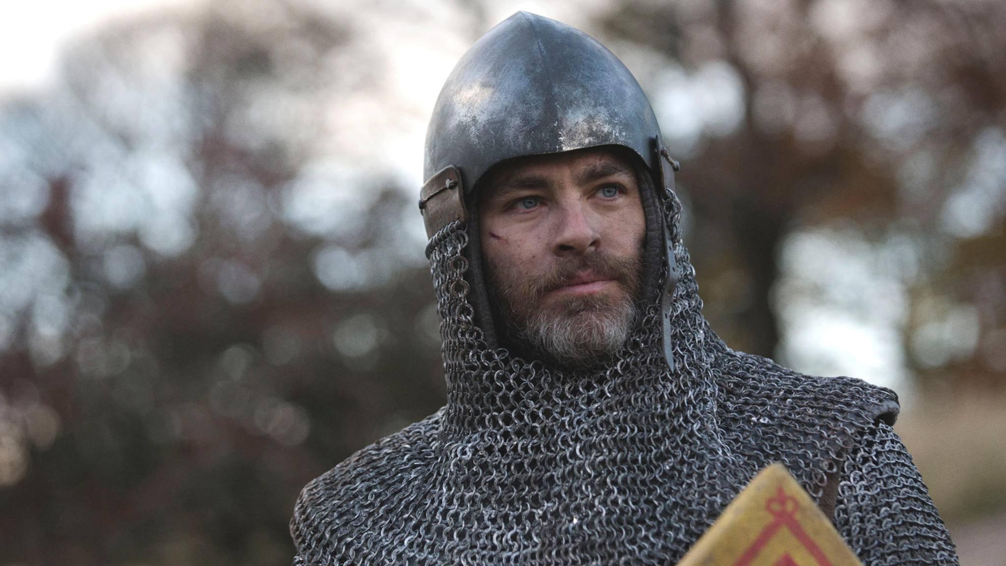 """Chris Pine wird in """"Outlaw King"""" zum schottischen König und Freiheitskämpfer Robert the Bruce."""