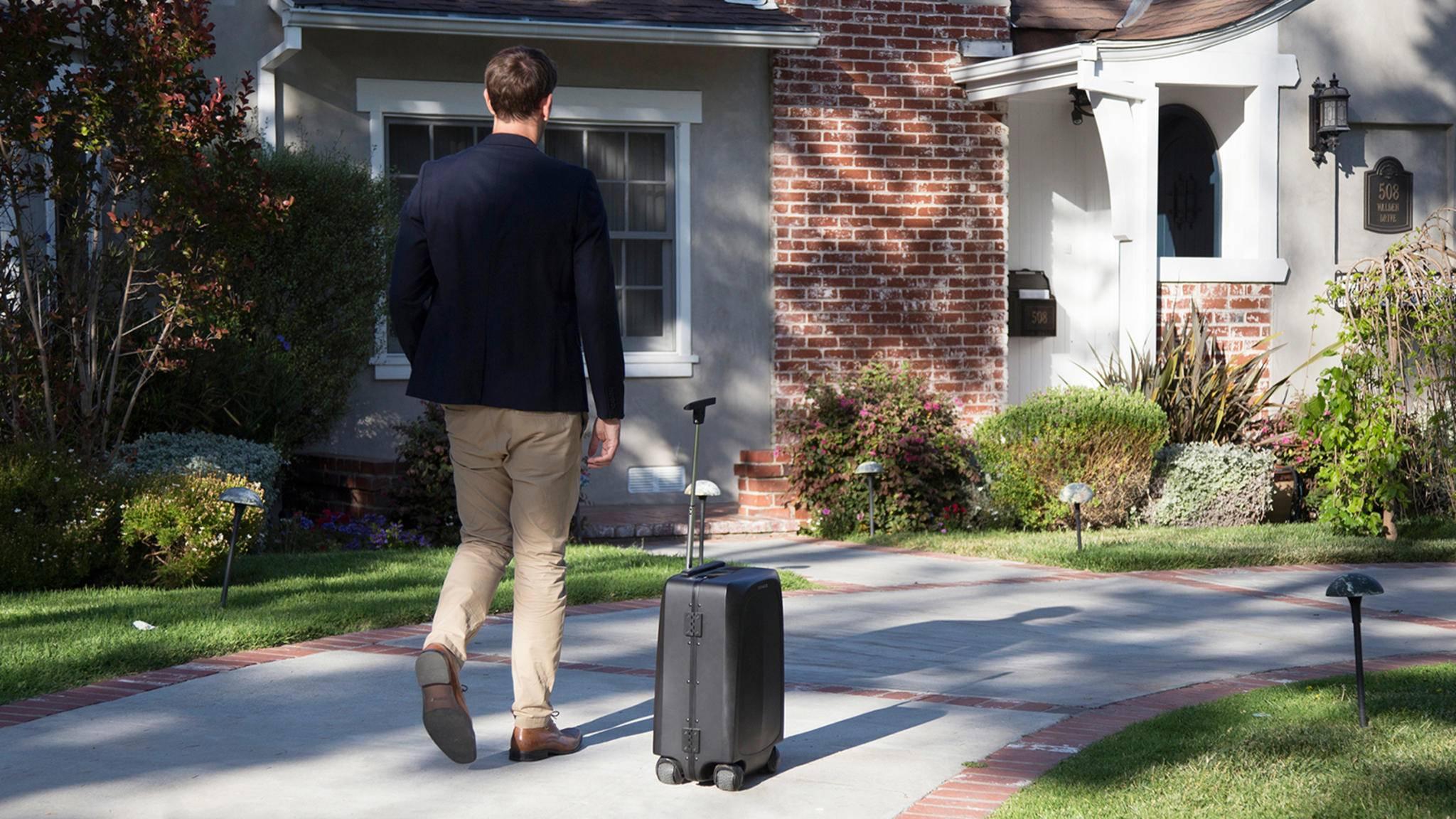 Smarte Koffer wie Ovis folgen ihren Besitzern zum Teil sogar eigenständig auf dem Fuße.